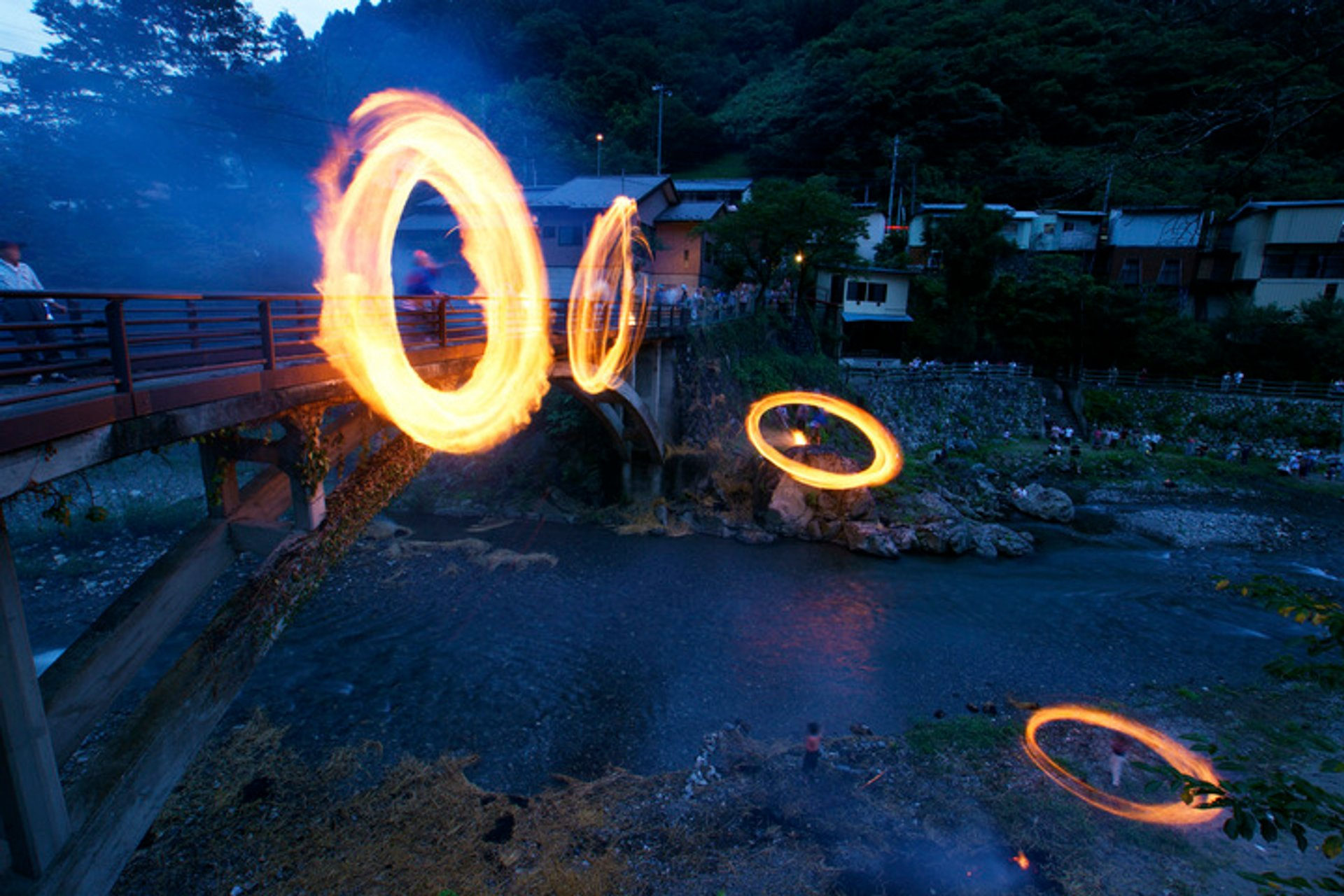 Ohinata no Hitoboshi or Fire Ring Festival in Japan - Best Season 2020