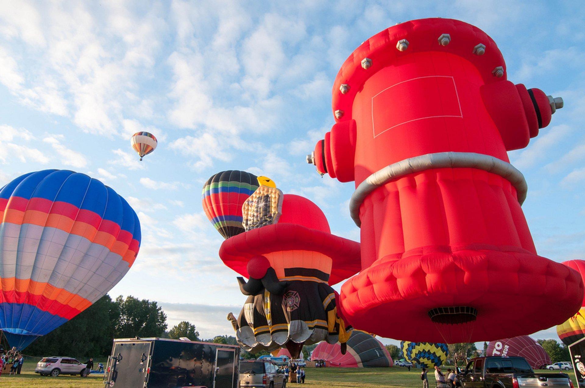 Gatineau Hot Air Balloon Festival in Ottawa - Best Season 2019