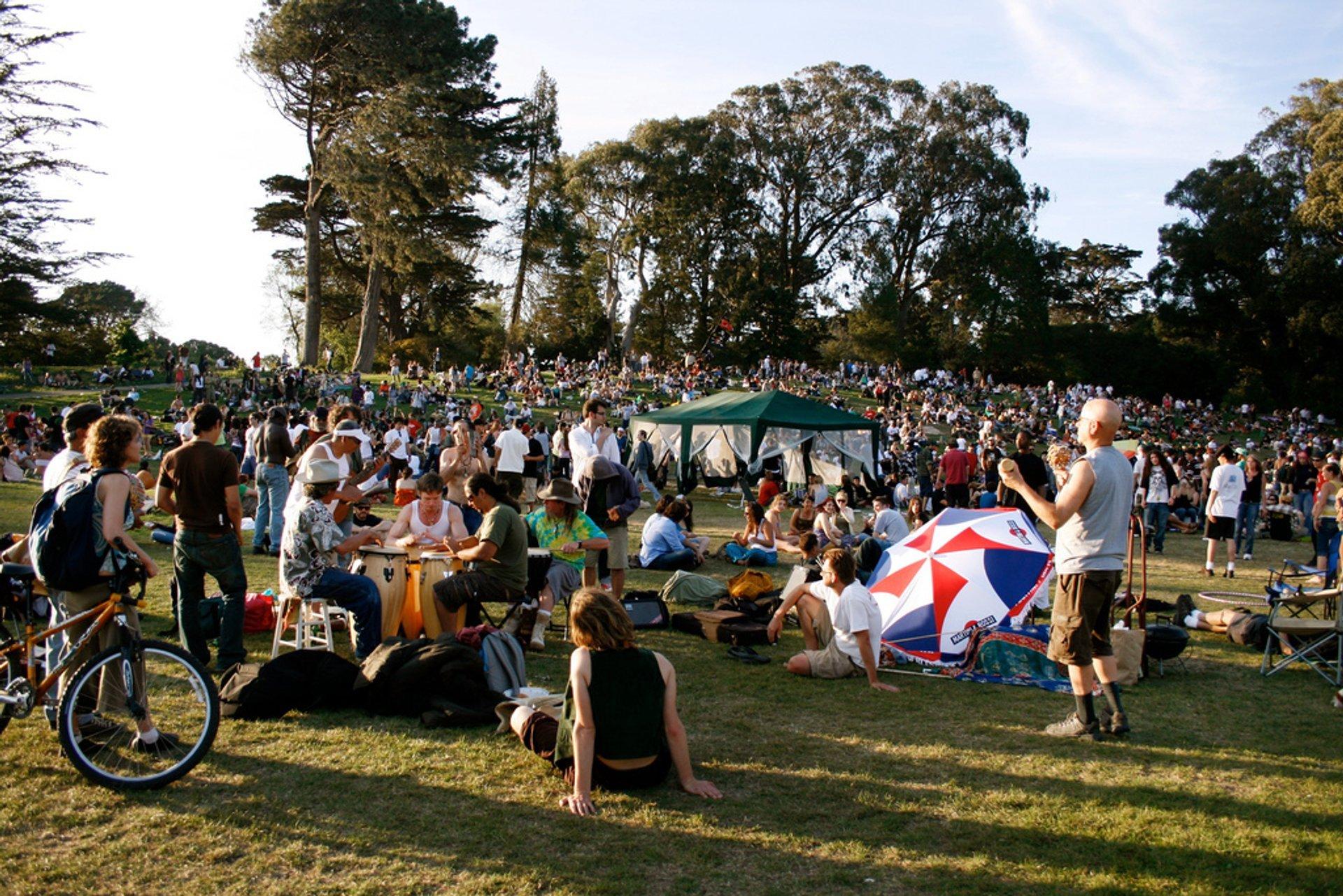 420 Hippie Hill in San Francisco - Best Season