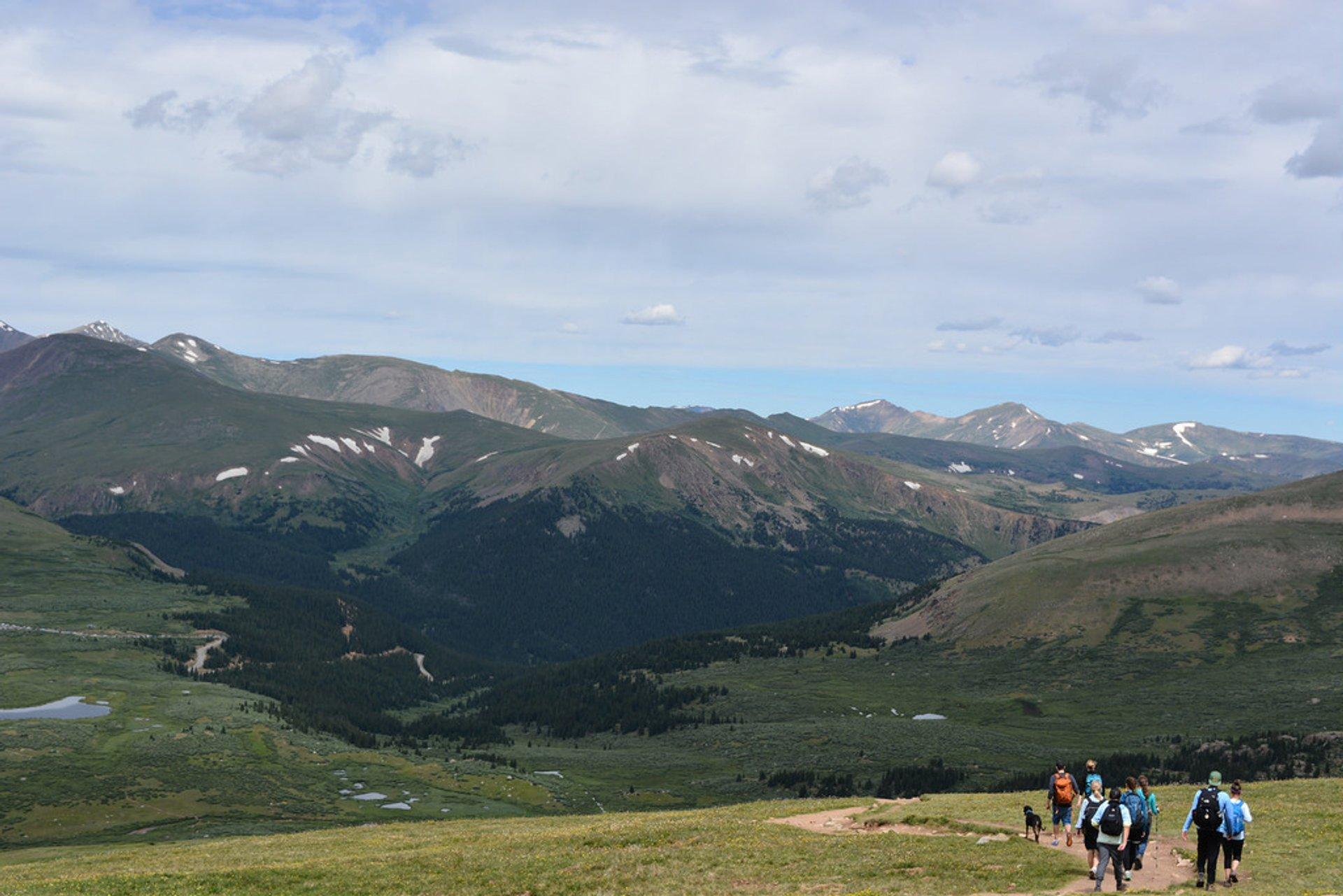 Best time for Mount Bierstadt in Colorado 2020