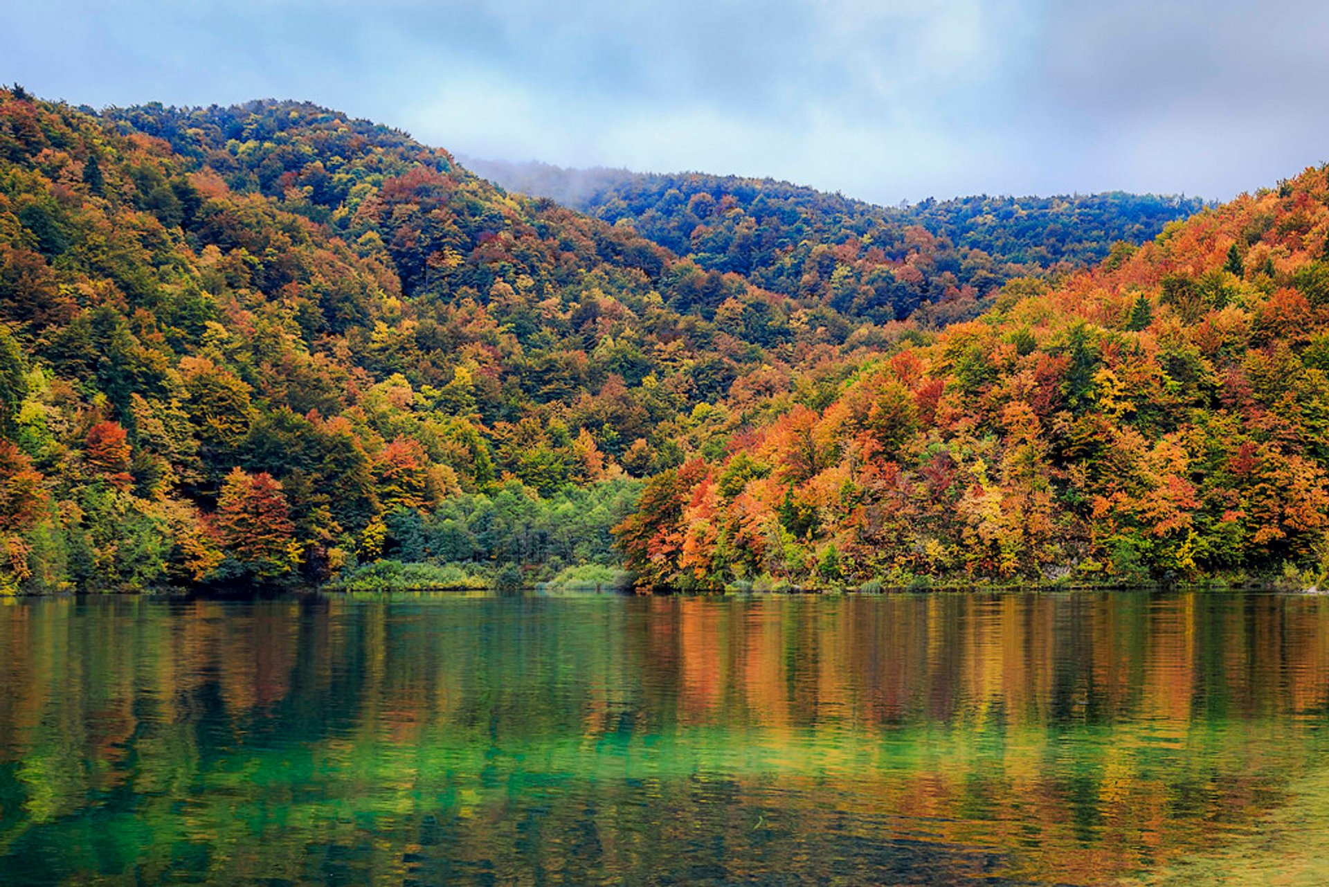 Autumnal Plitvice Lakes in Croatia 2020 - Best Time