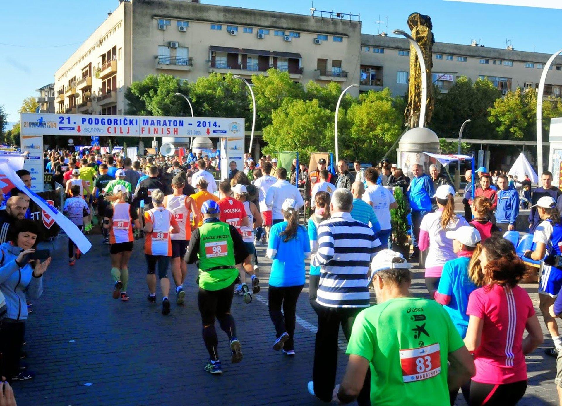 Podgorica Marathon in Montenegro - Best Season 2020
