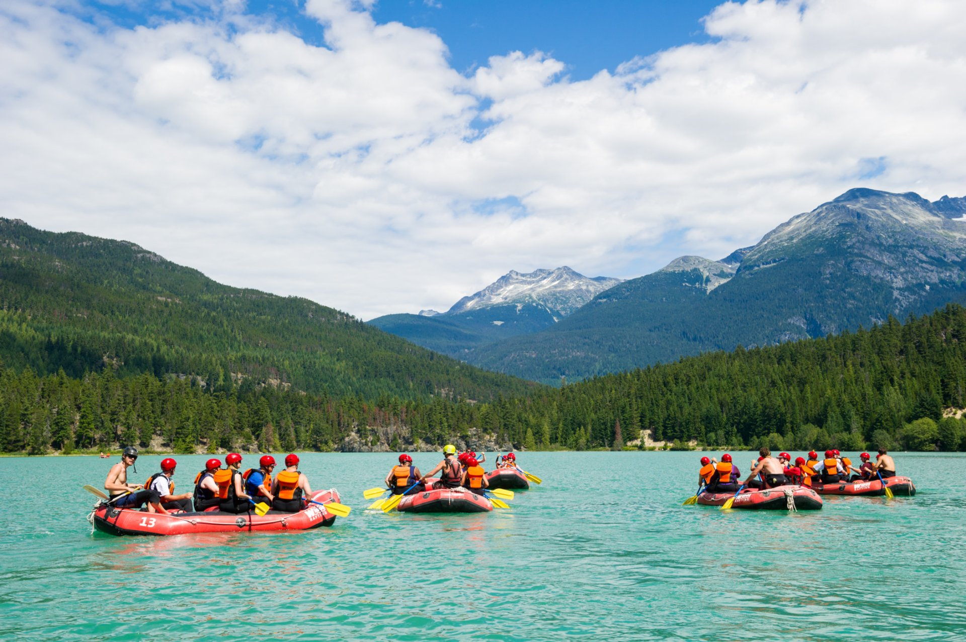 Rafting in Vancouver 2020 - Best Time