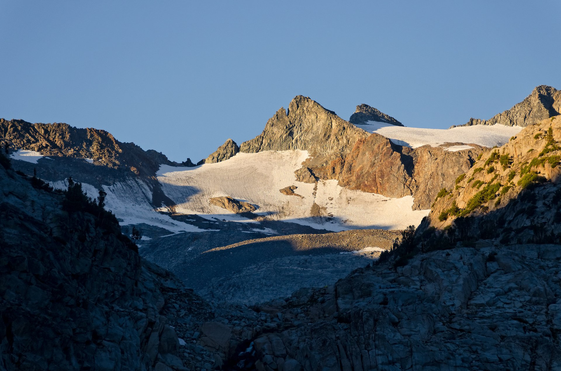Lyell glaciers 2020
