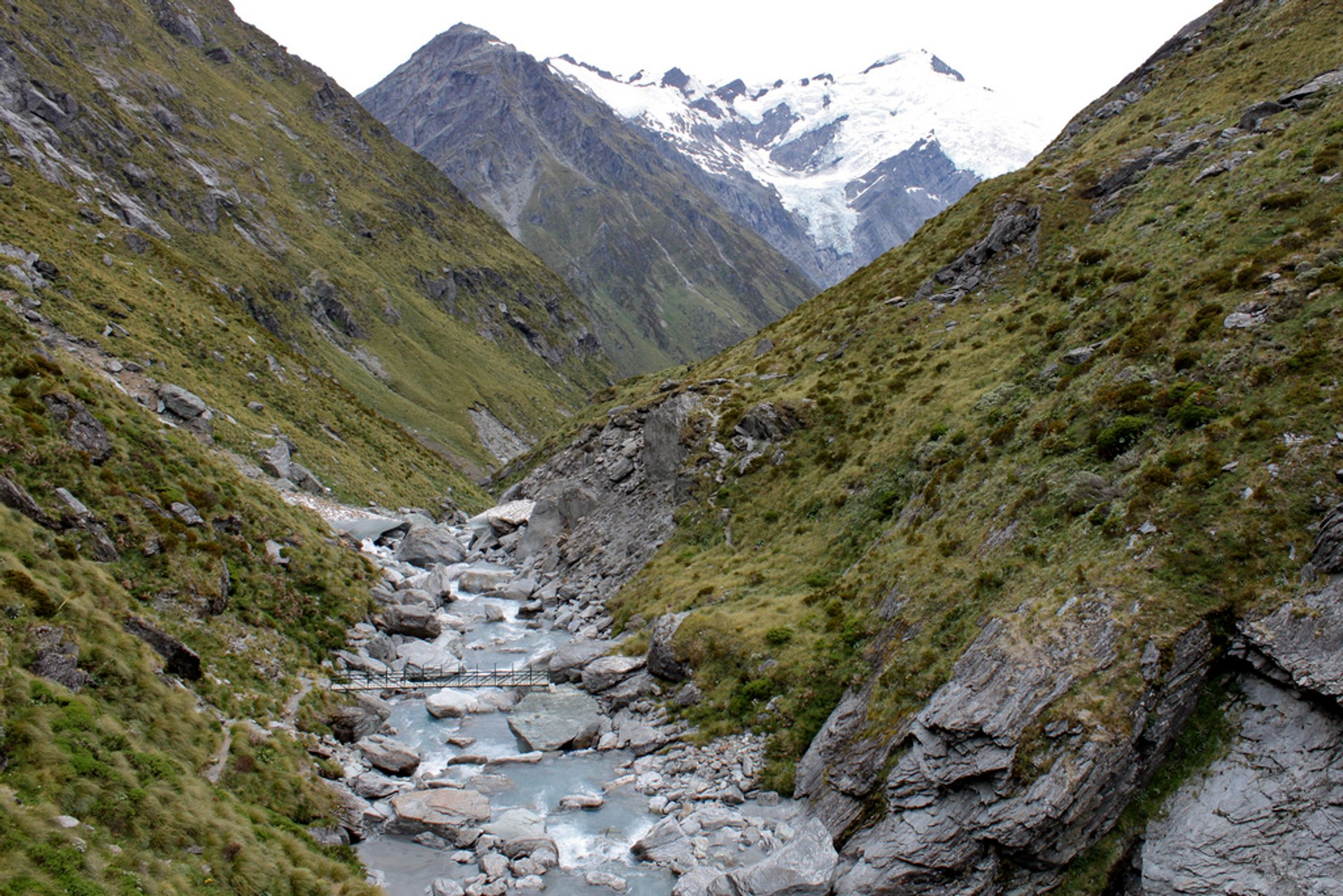 Route to Dart hut 2019