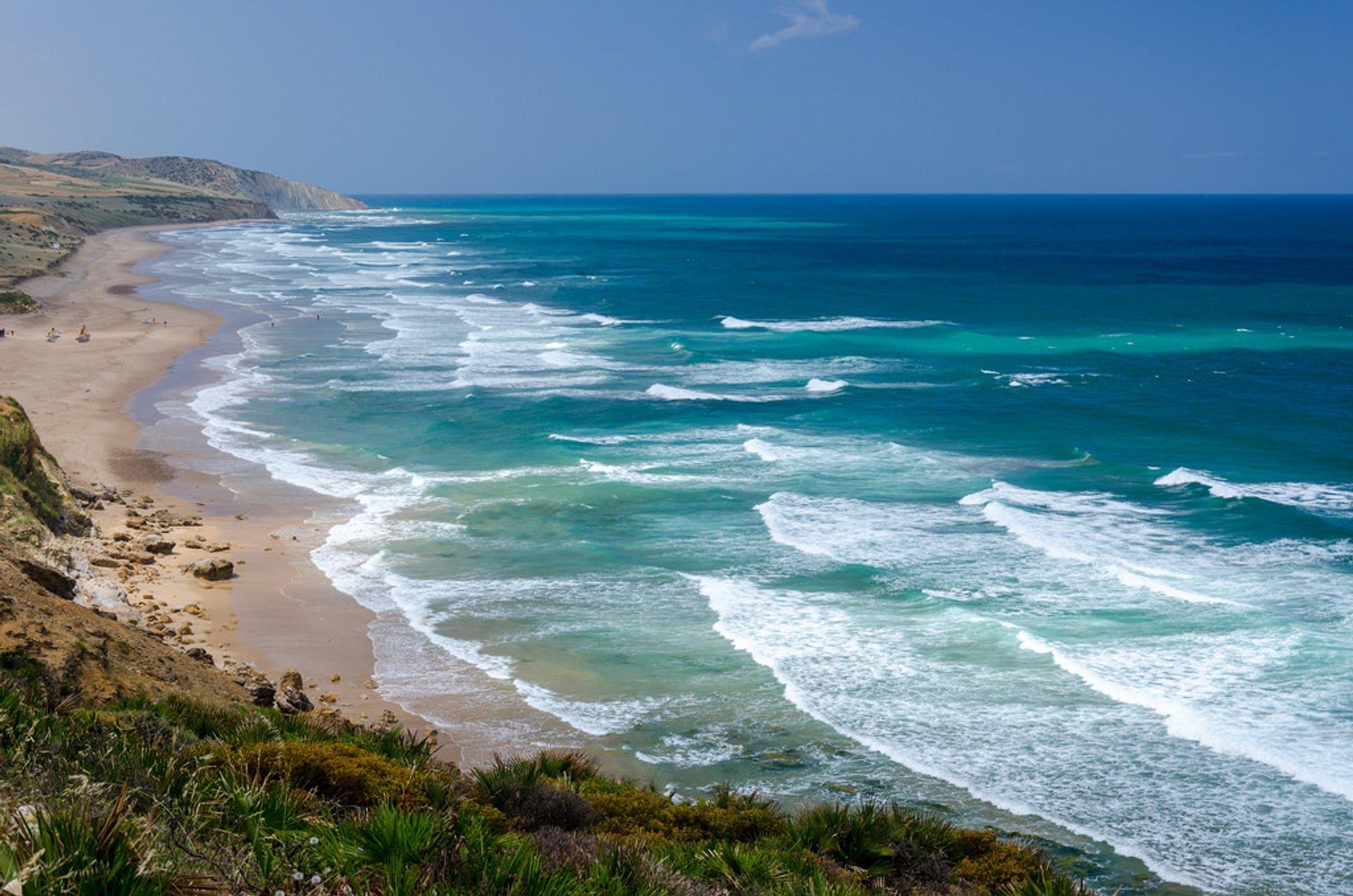 Plage de Paradis, Paradise Beach, Assilah 2020
