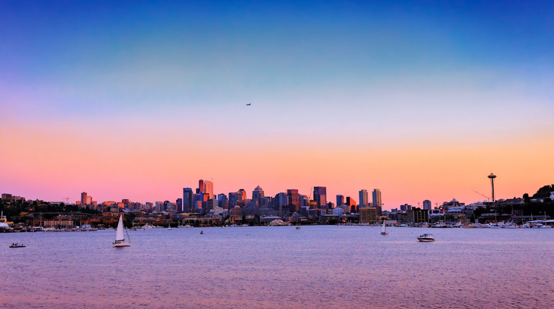 Lake Union Sunset 2019