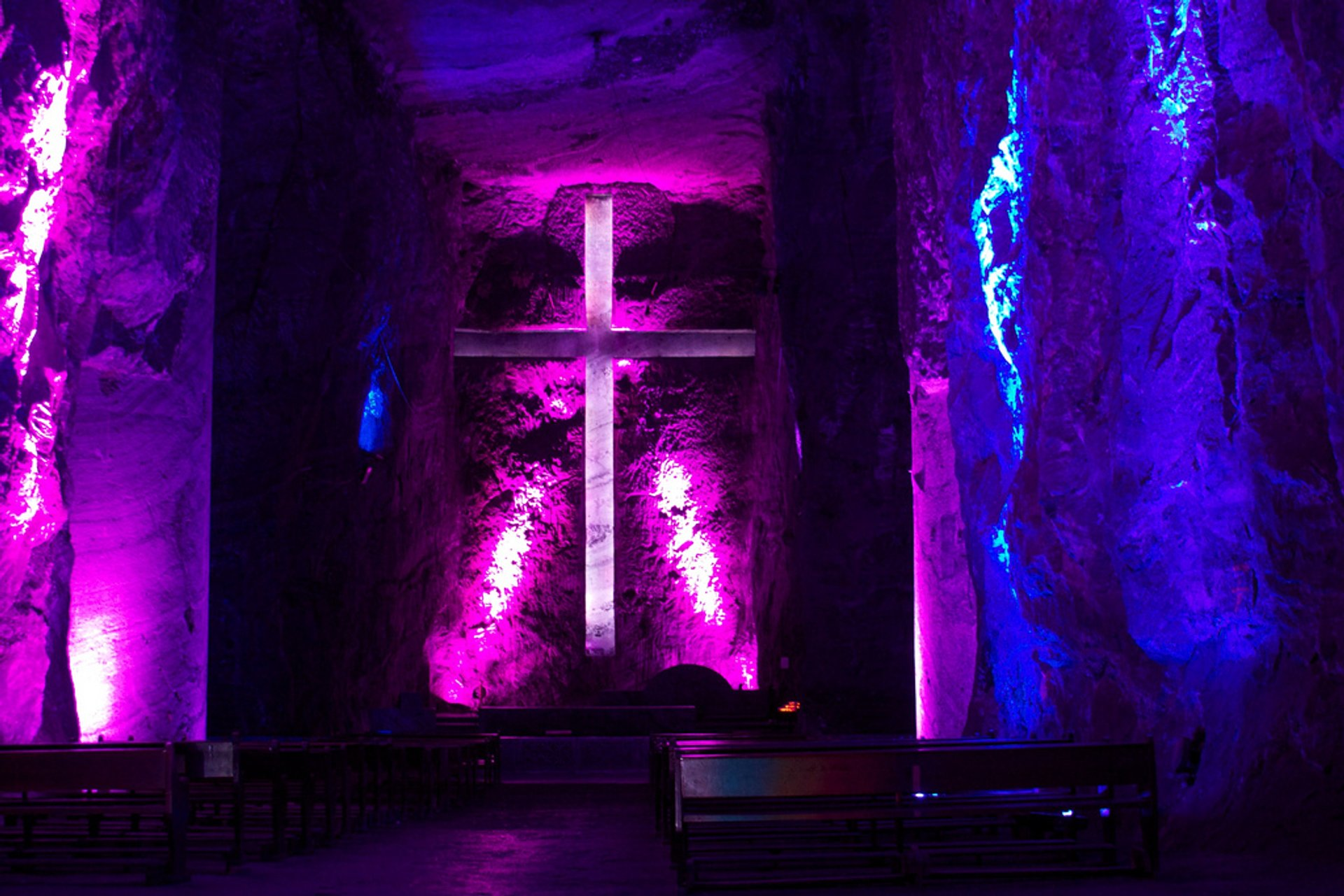 Best time for Salt Cathedral of Zipaquirá in Colombia 2020