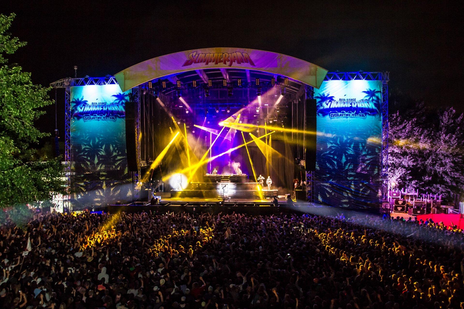 Best time for Summerjam Festival 2020
