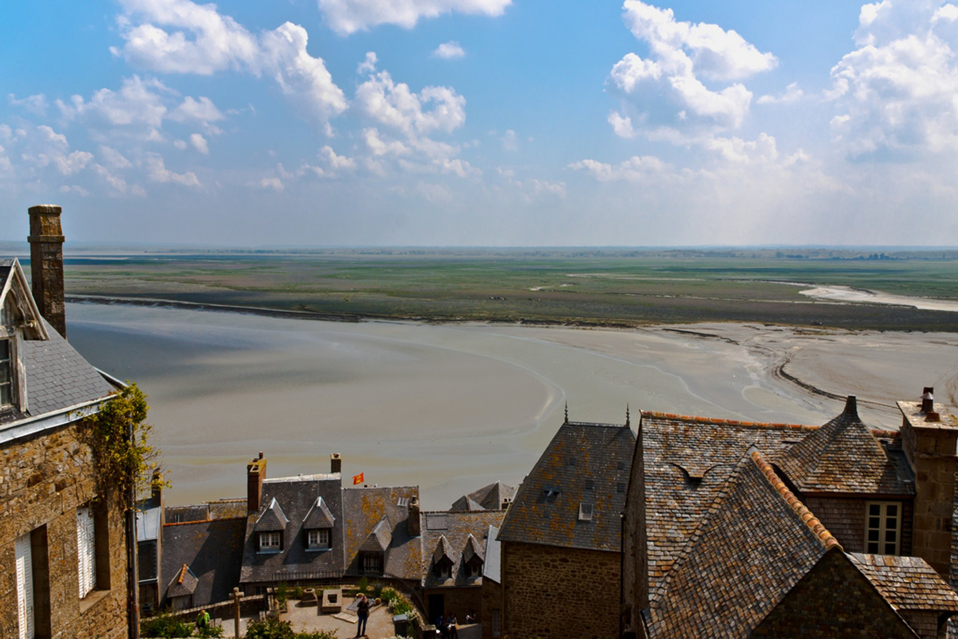 Mont Saint Michel Tide in Normandy - Best Season 2020