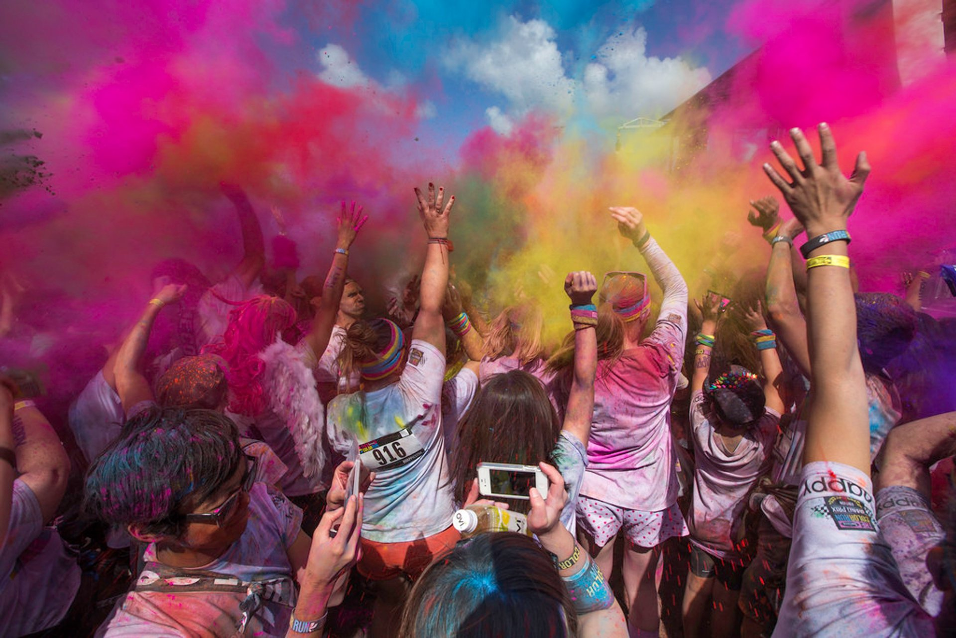 Best time to see The Color Run
