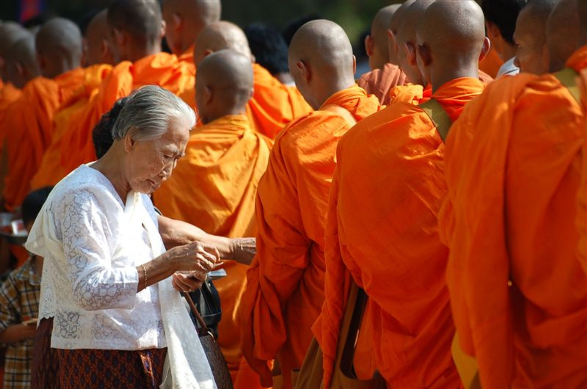Visak Bochea Day in Cambodia 2019 - Best Time