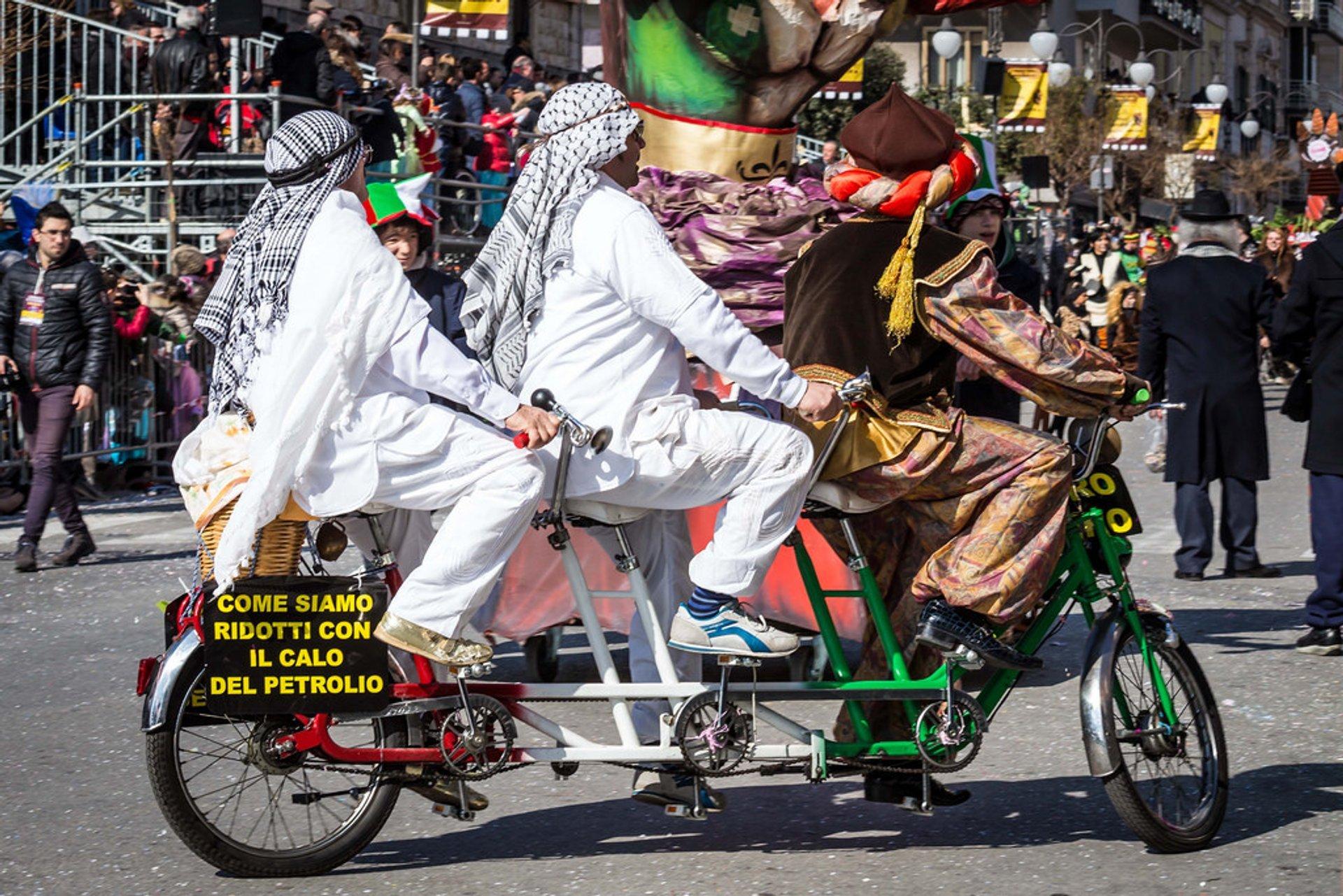 Carnevale di Putignano, Bari, Italy 2020