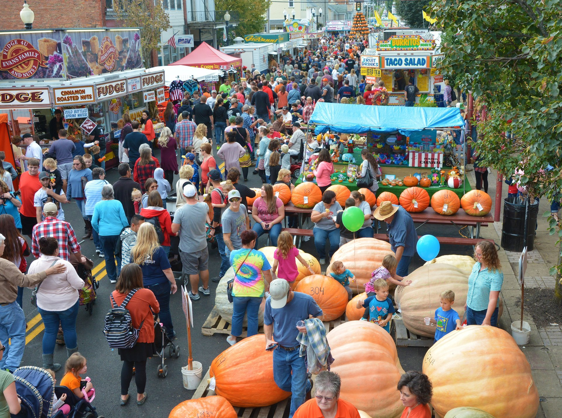 Barnesville Pumpkin Festival in Ohio 2019 - Best Time