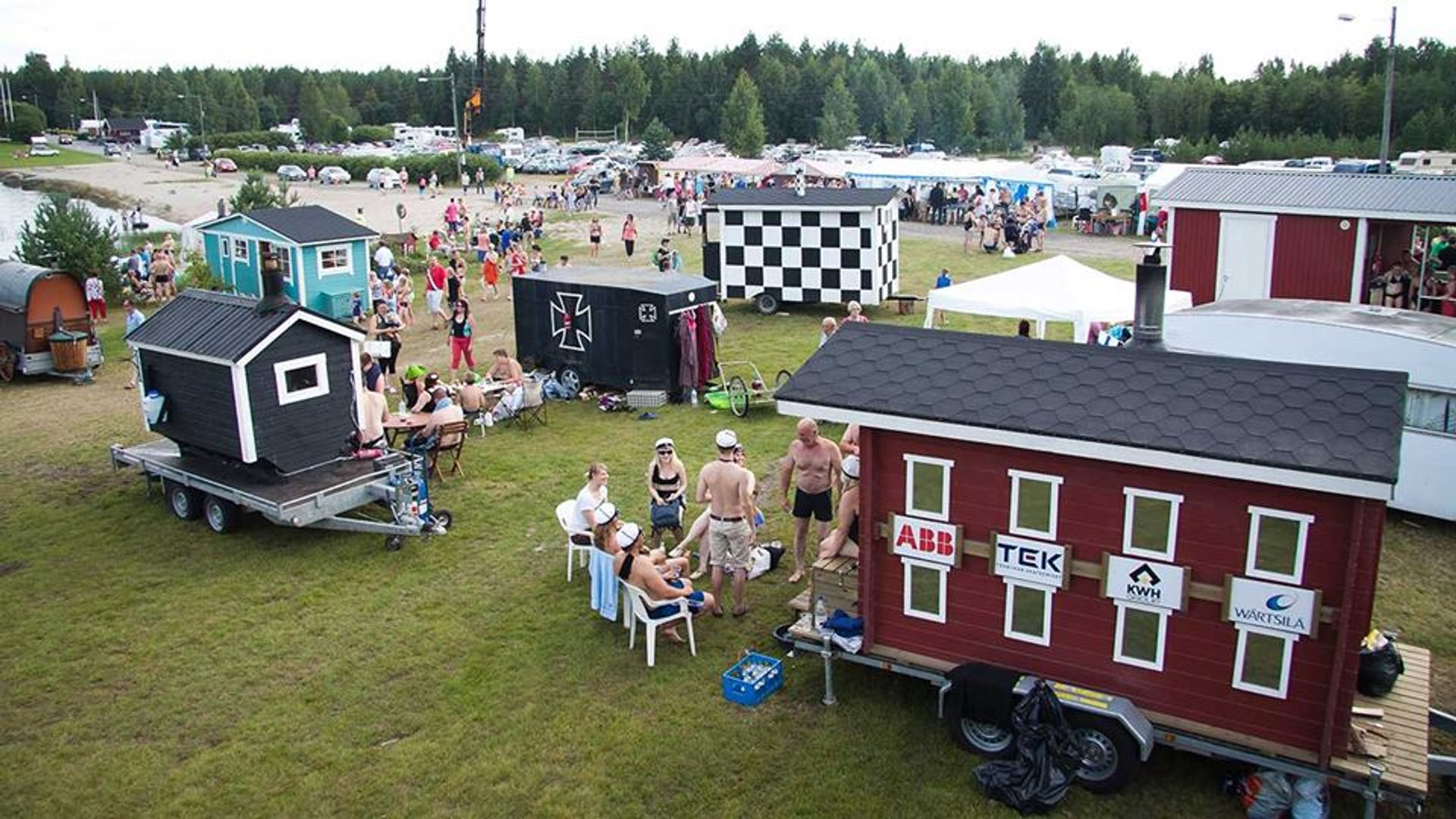 Mobile Sauna Festival in Teuva in Finland - Best Time