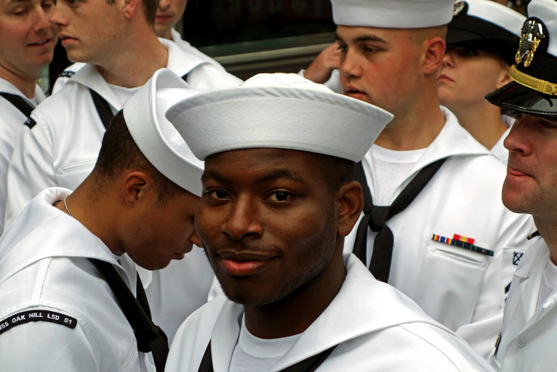 Th famous white uniform sailors 2020