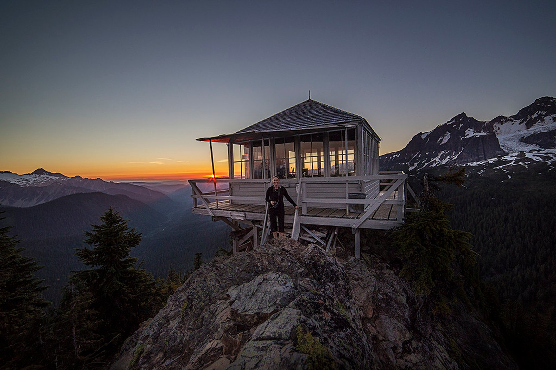 Park Butte Lookout in Washington 2020 - Best Time
