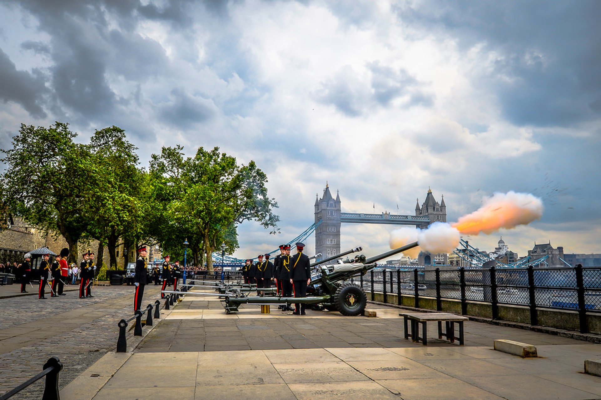 Royal Gun Salutes in London 2019 - Best Time