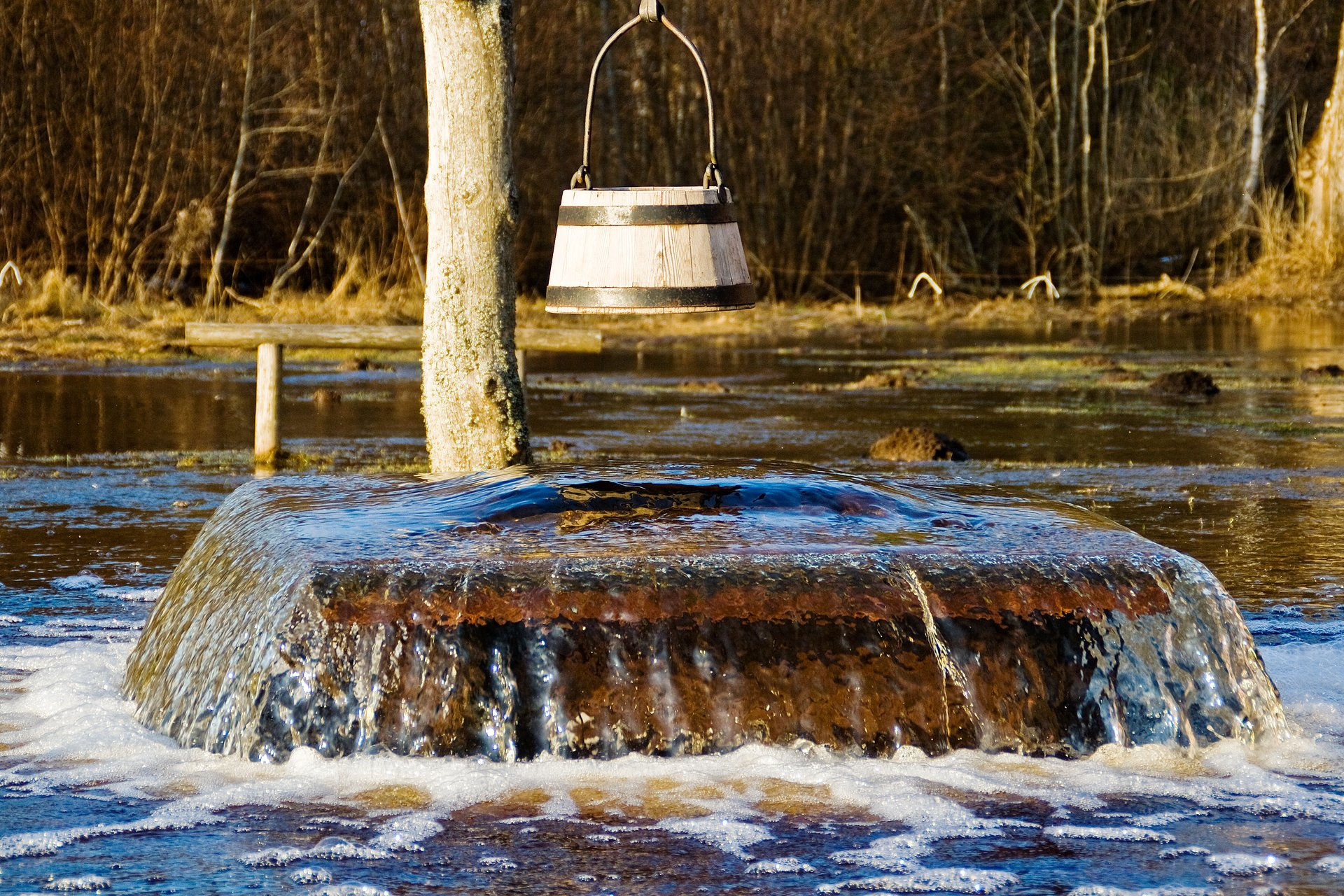 Tuhala Witch's Well Overflowing in Estonia 2020 - Best Time