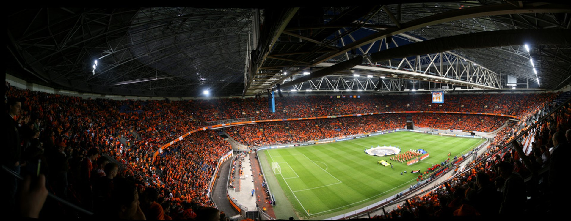 Worldcup qualification game Netherlands vs. Macedonia in Amsterdam, The Netherlands 2020