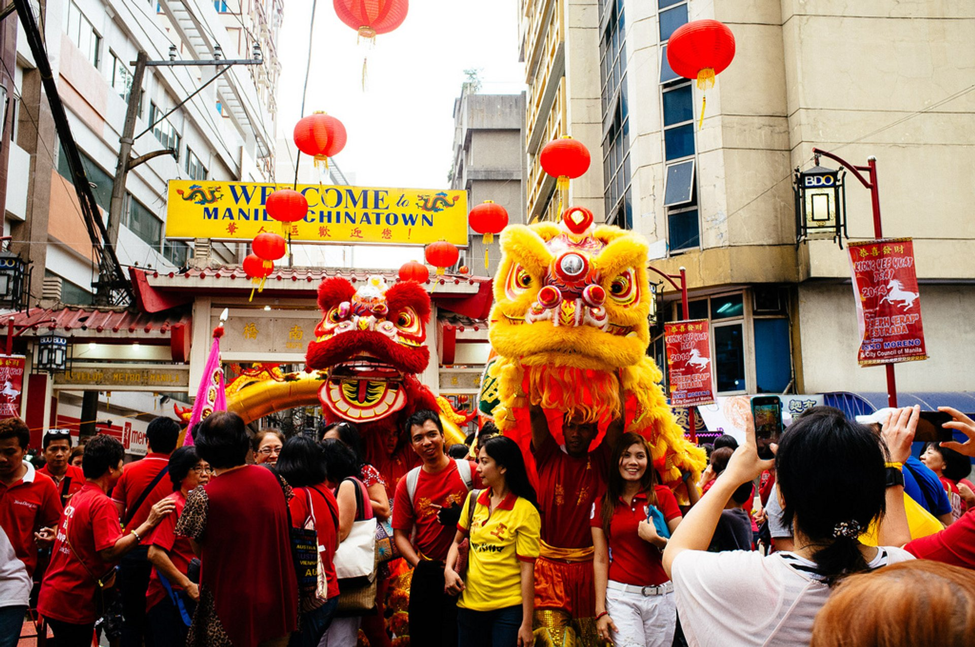 Chinese New Year 2021 in Philippines - Dates & Map
