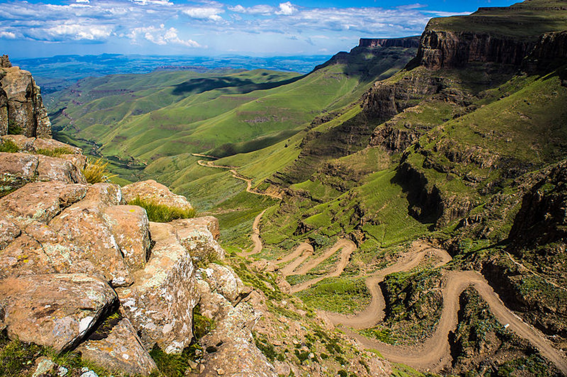 Sani Pass Road in South Africa 2019 - Best Time