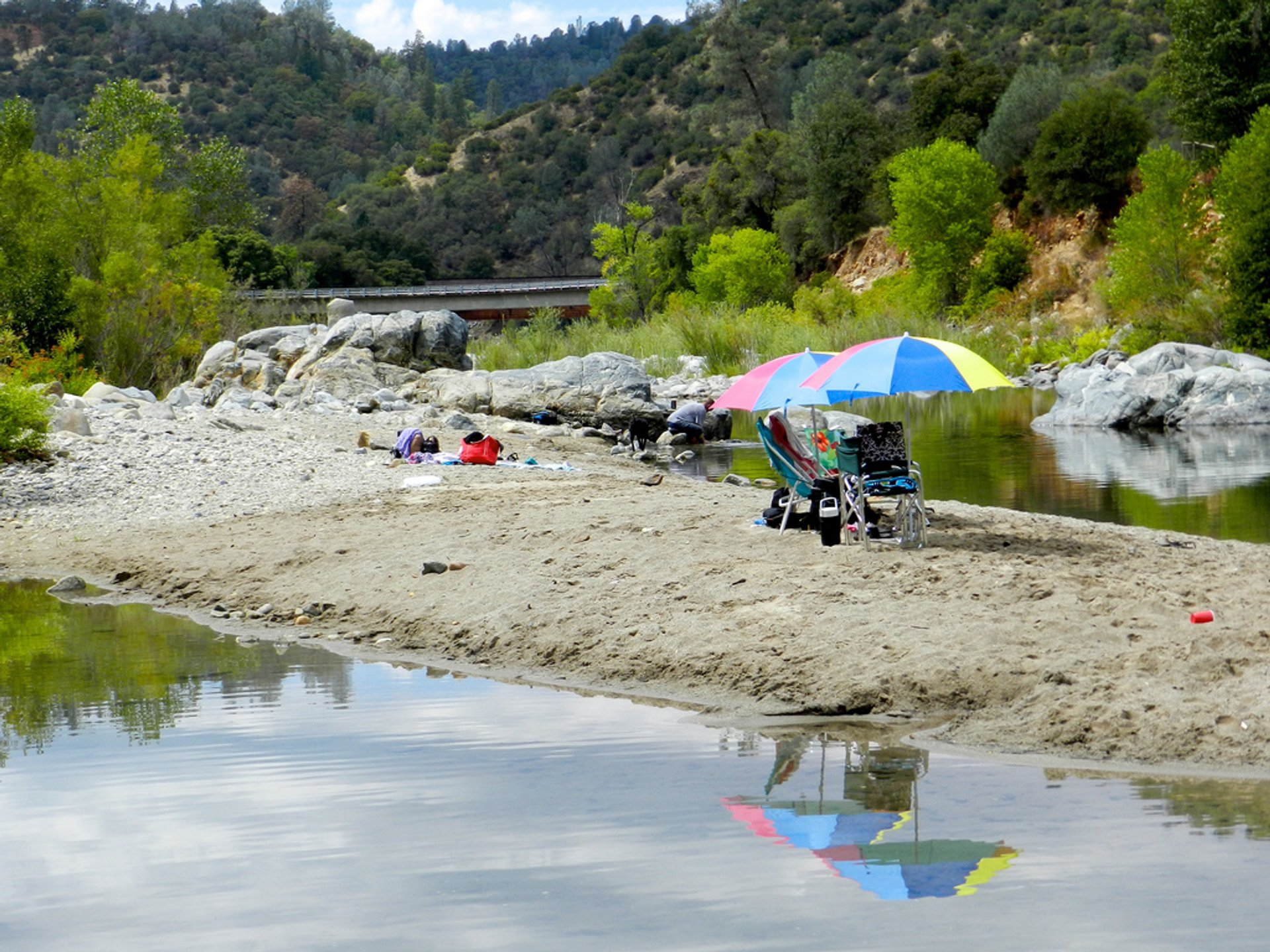 South Yuba River at Bridgeport 2020