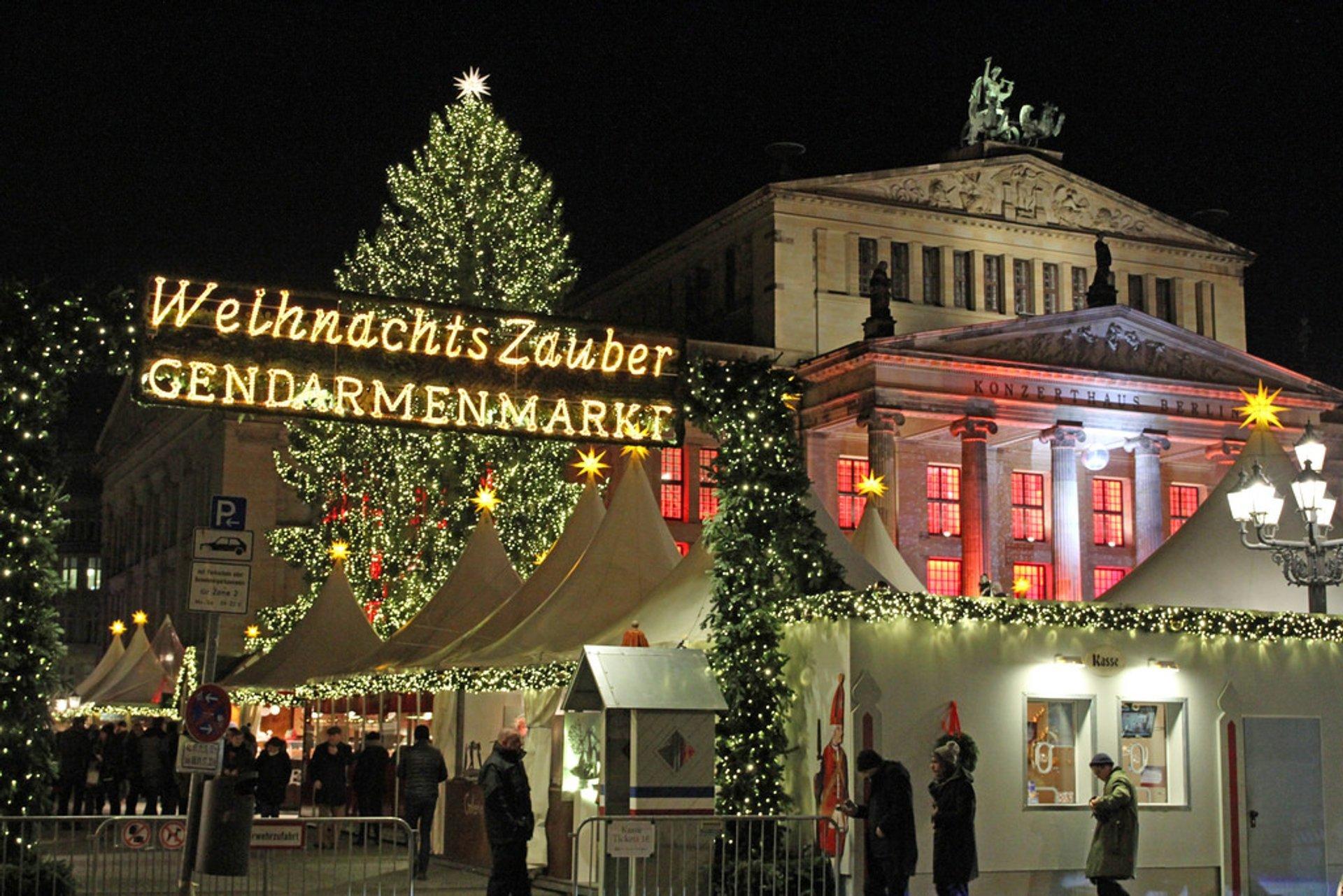 Weihnachtszauber Gendarmenmarkt, Berlin 2020