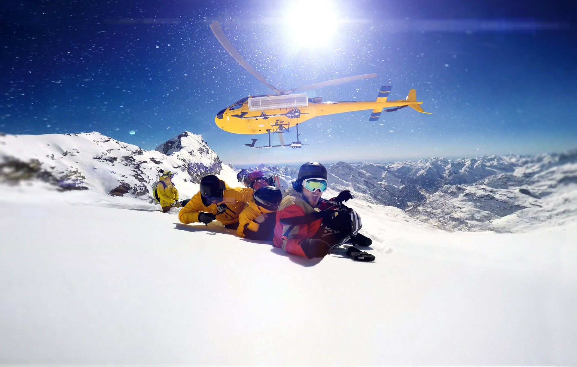 Heliskiing and Heliboarding in Austria 2020 - Best Time