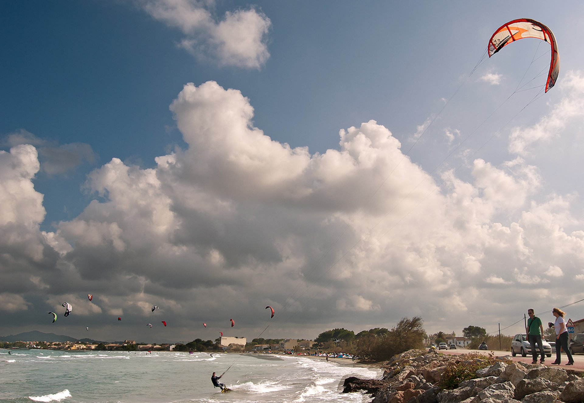 Kitesurf en Bahía Club (Alcudia, Mallorca) 2020
