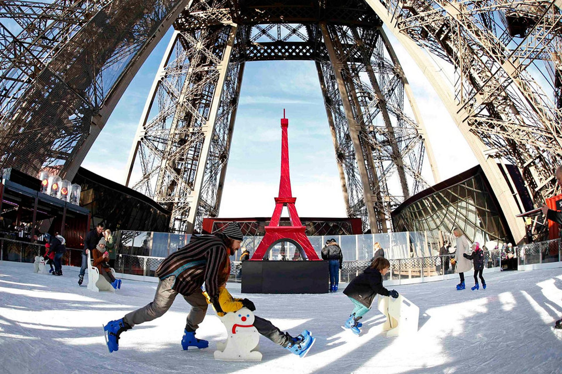 Ice Rink at the Eiffel Tower 2020