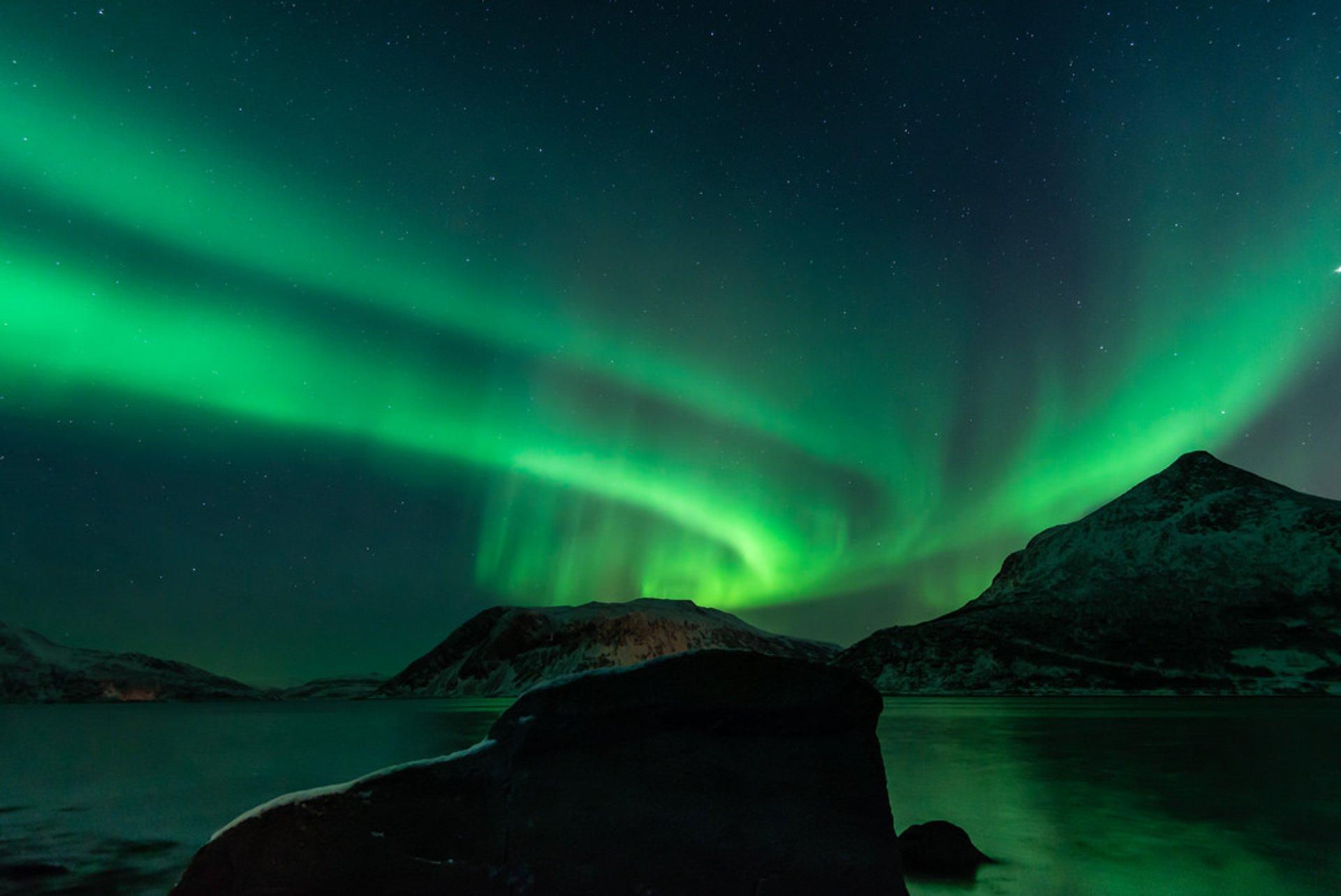 Aurora Borealis in Tromsø area