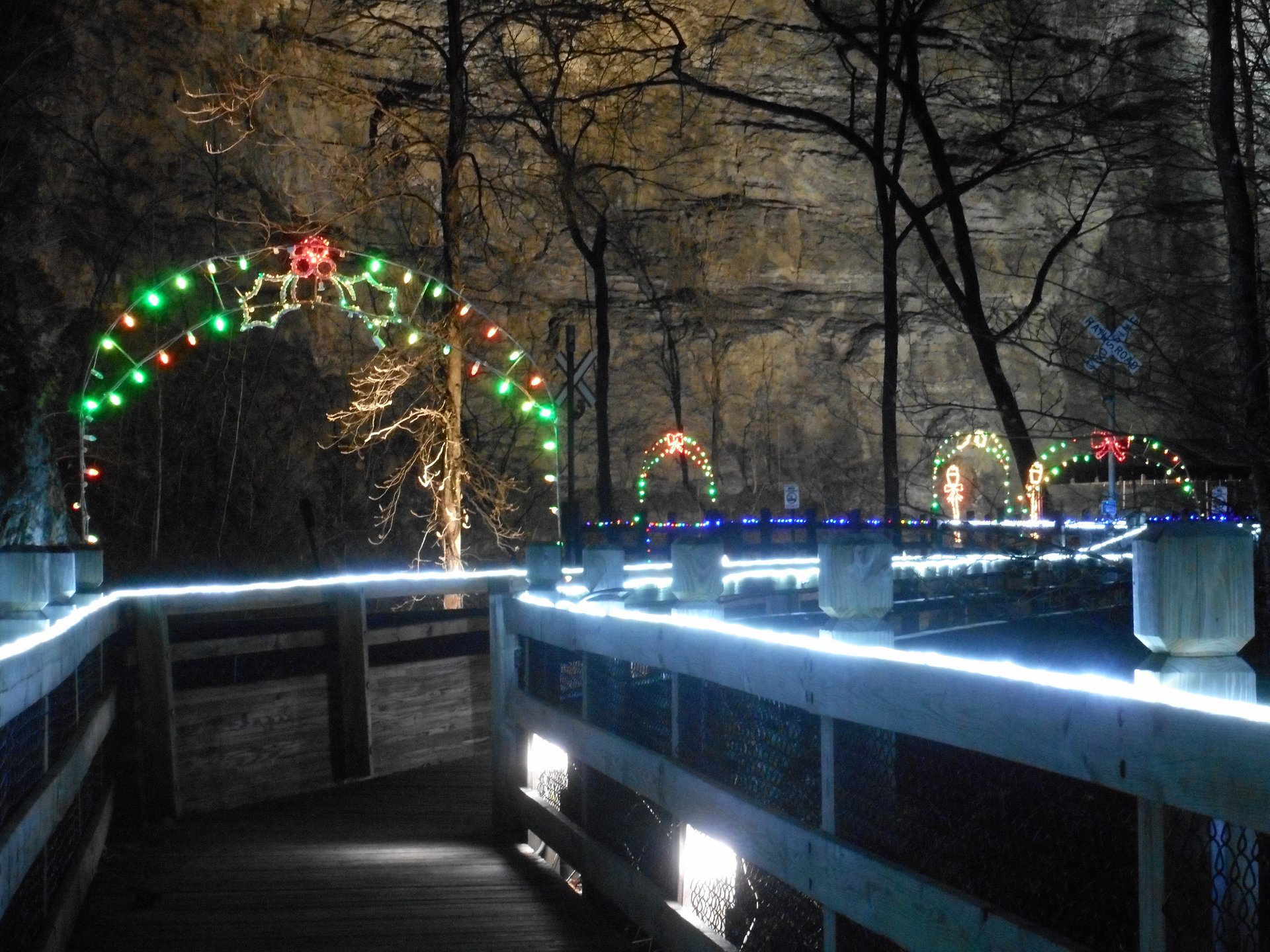 Christmas at Natural Tunnel State Park 2020