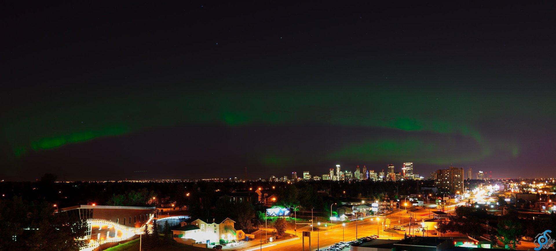 Northern Lights  in Calgary - Best Season 2020