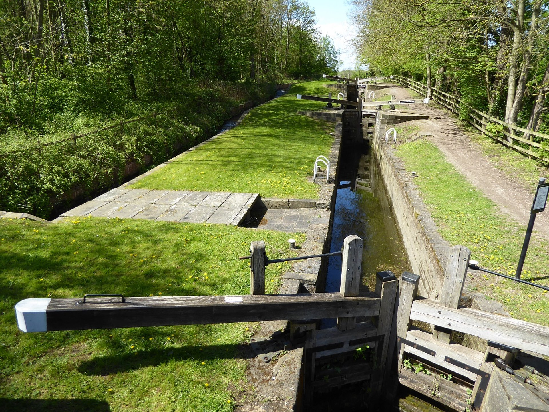 The Giant's Staircase at Chesterfield Canal 2020