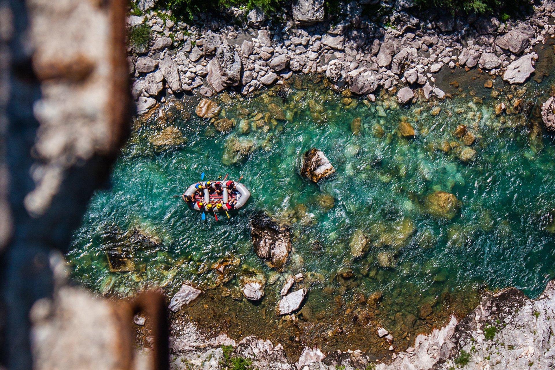 Rafting in Montenegro 2020 - Best Time