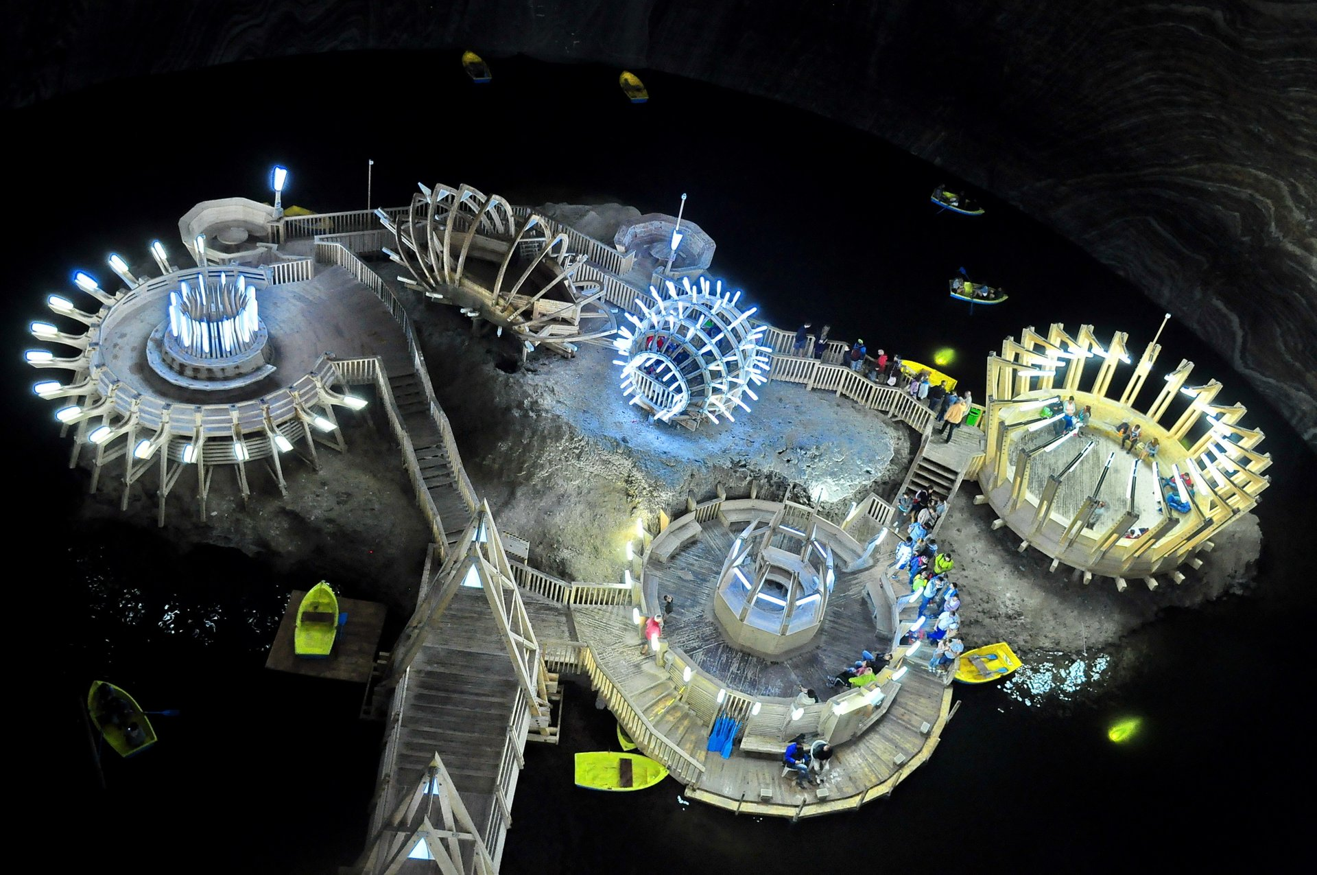 Best time for Salina Turda Underground Amusement Park in Romania 2020
