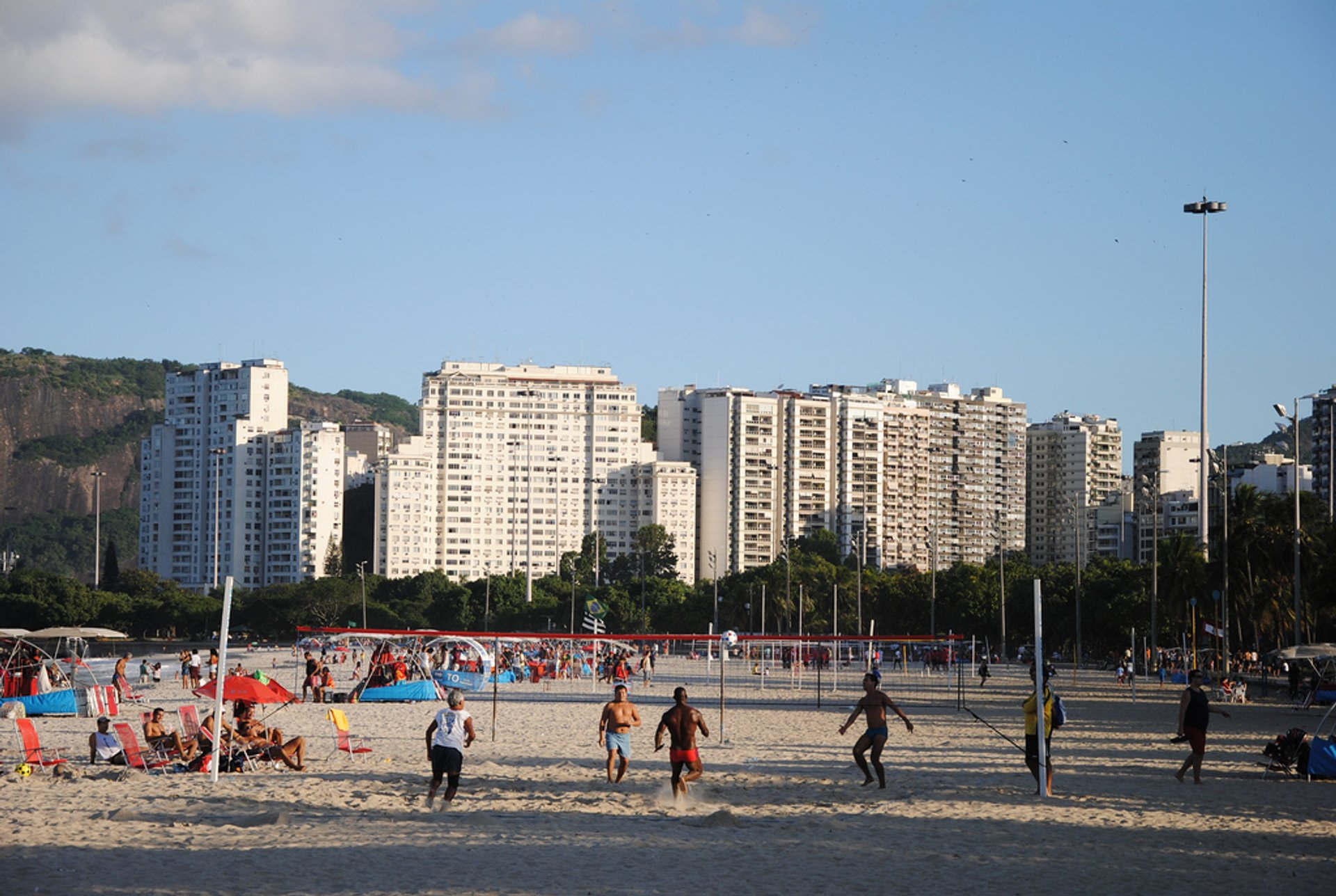 Best time for Futevôlei or Footvolley in Rio de Janeiro 2019