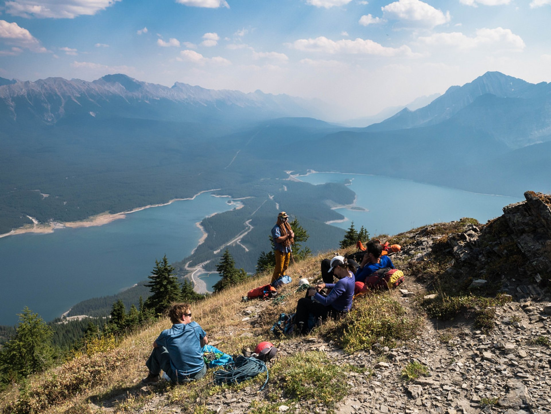 Mount Indefatigable in Alberta - Best Time