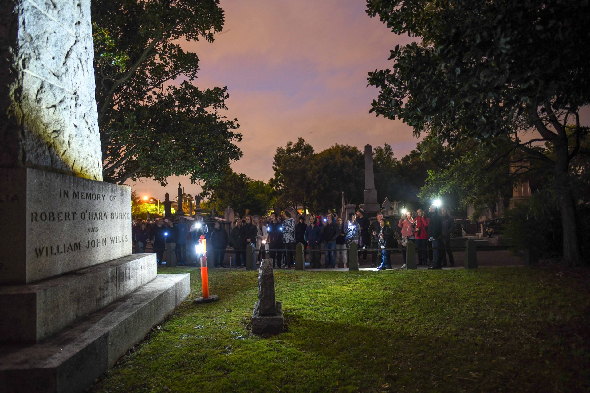 Halloween tours of Melbourne General Cemetery 2020