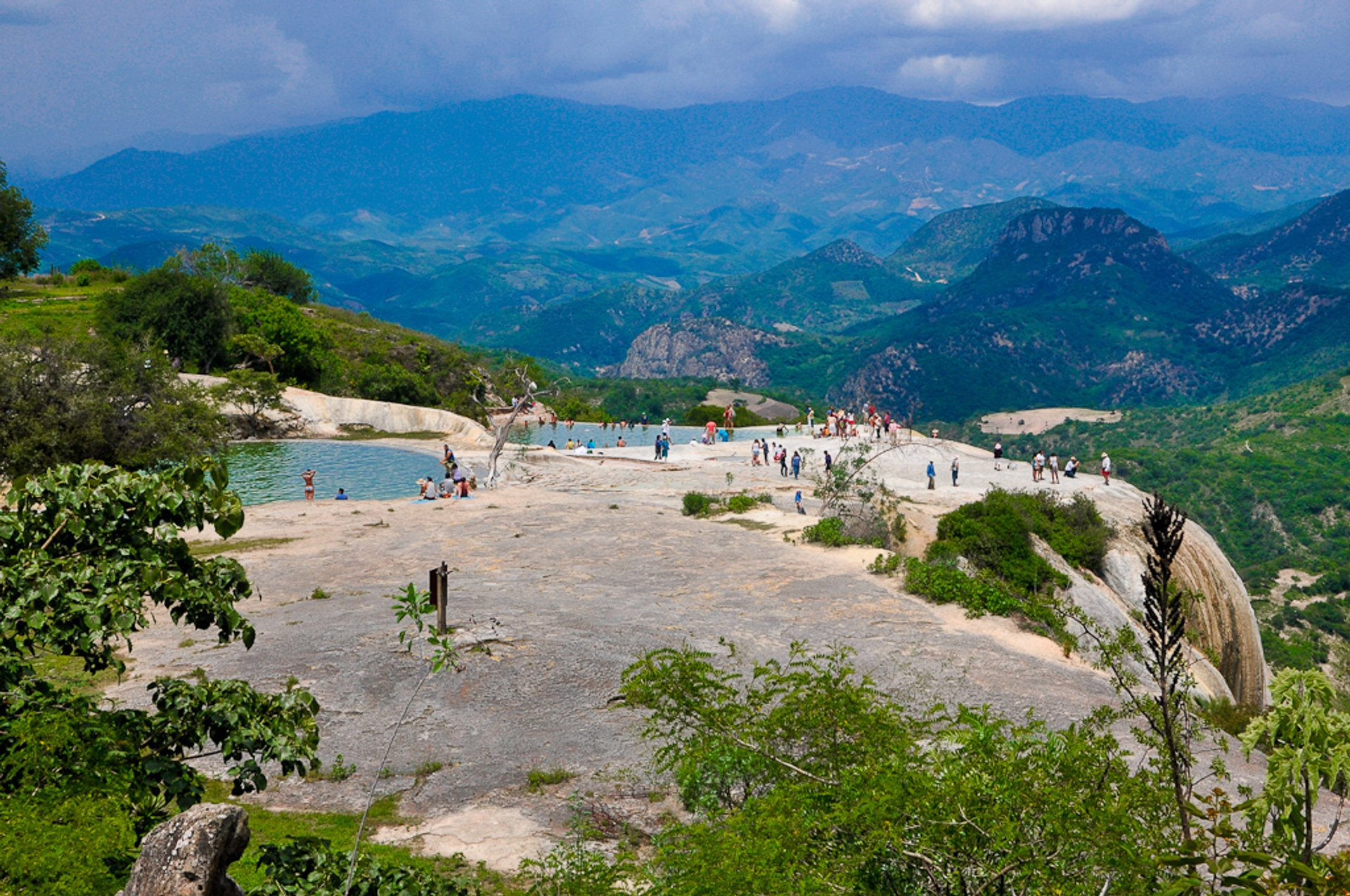 Hierve el Agua Waterfall in Mexico - Best Season 2020