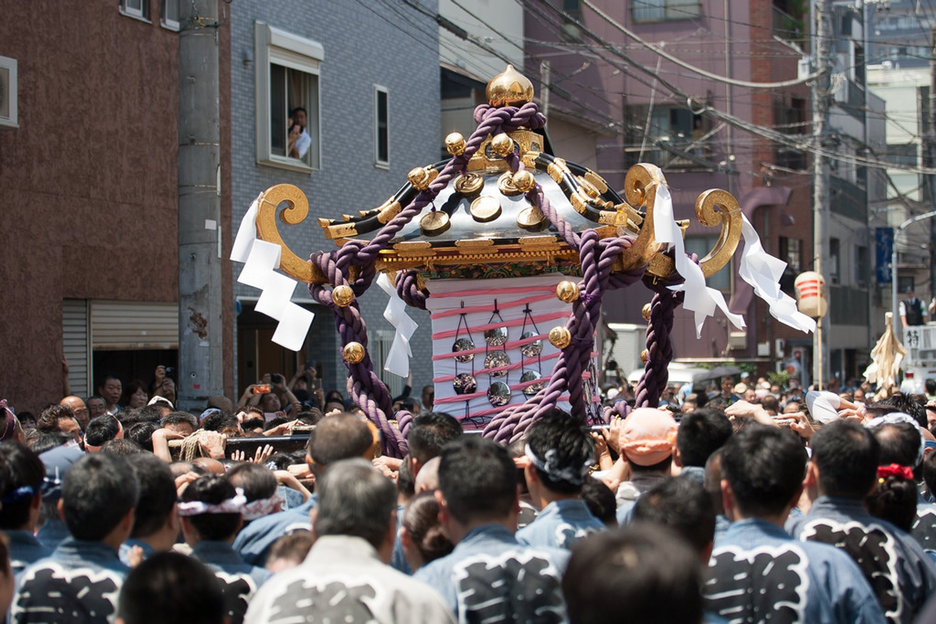 Best time to see Asakusa Sanja Matsuri Festival in Tokyo 2020