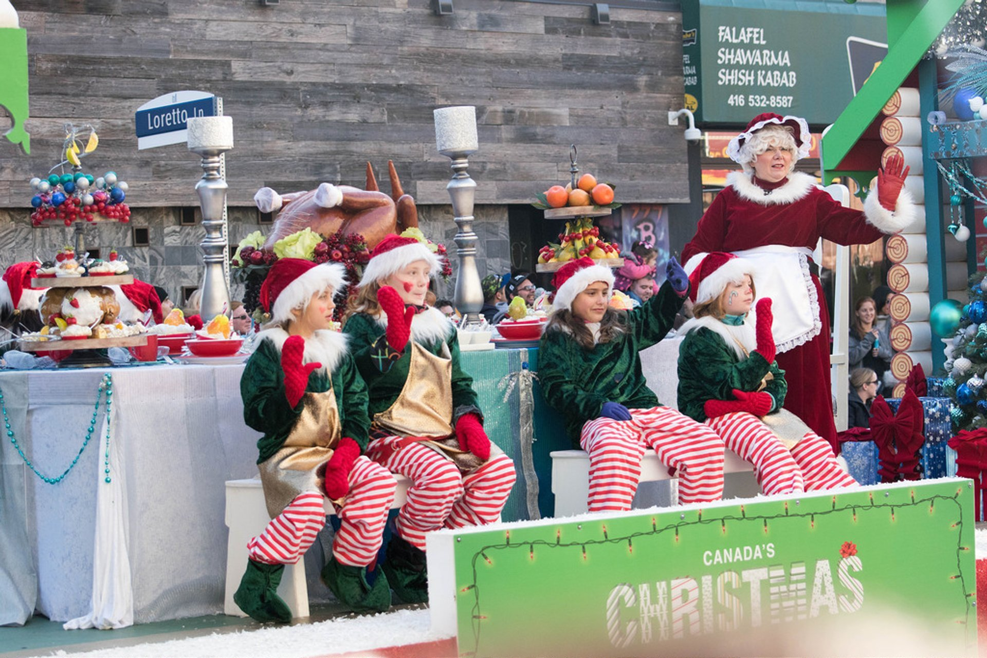 Best time for Santa Claus Parade 2020
