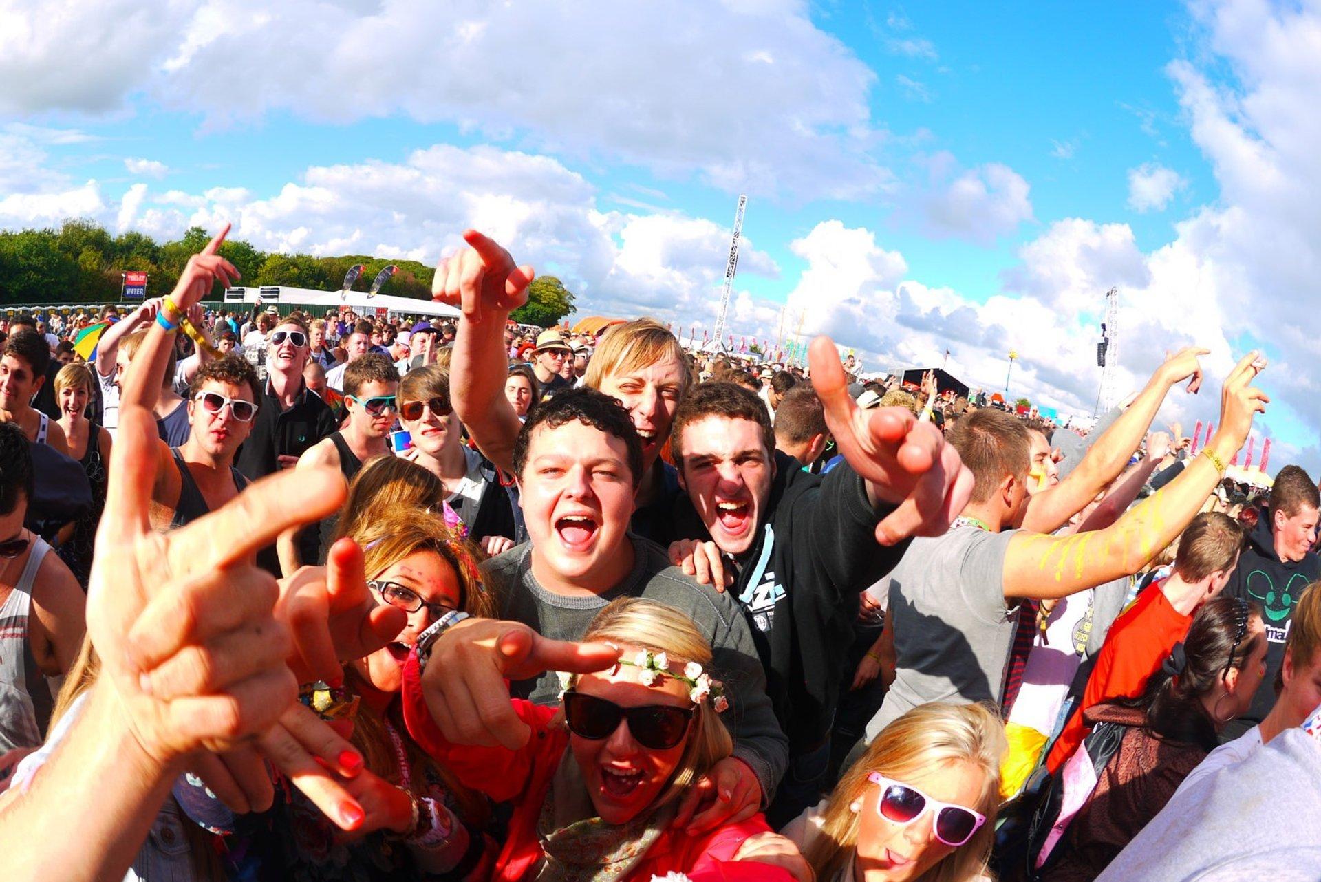 Creamfields in England 2020 - Best Time