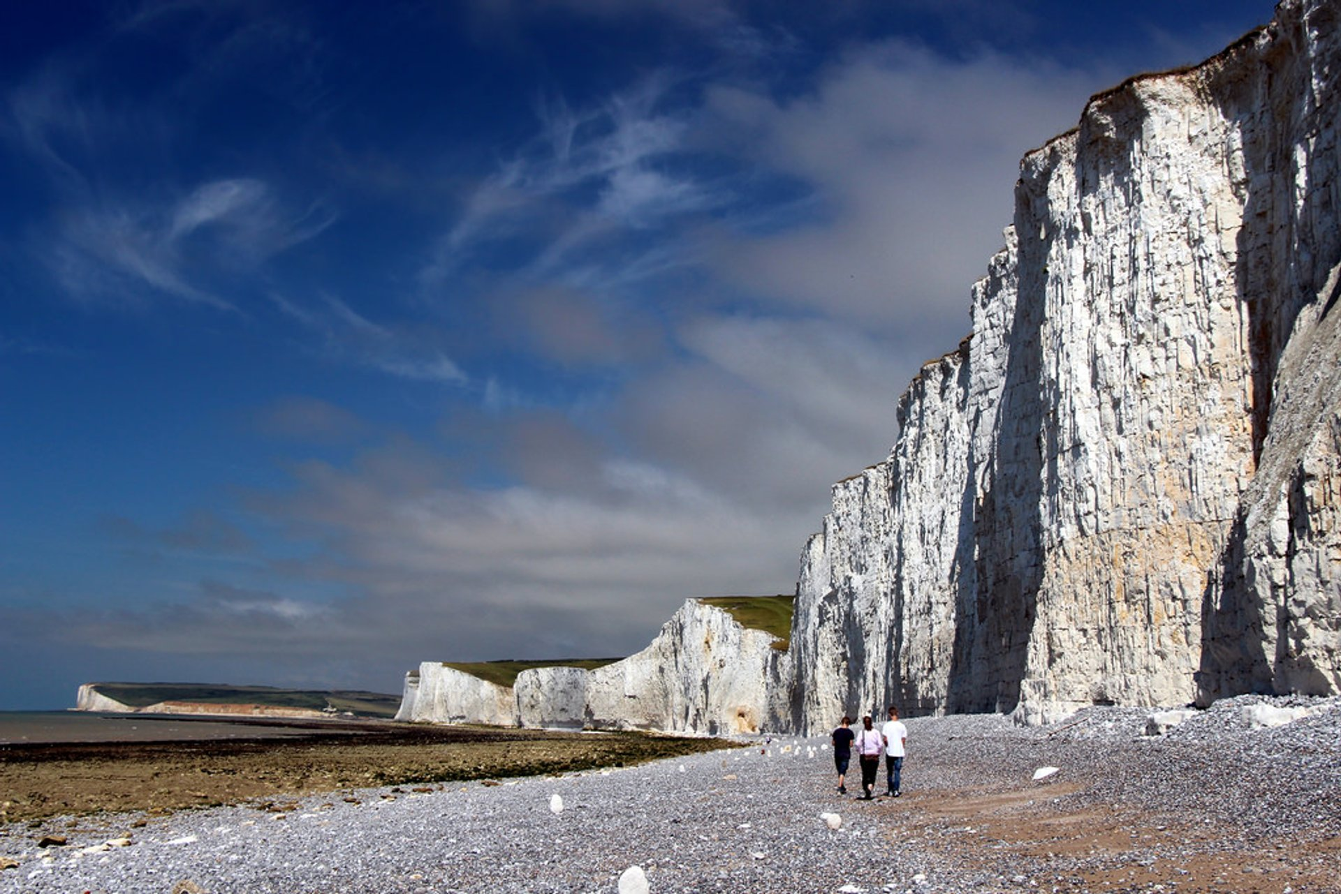 Chalk Cliffs of East Sussex in England - Best Season 2019