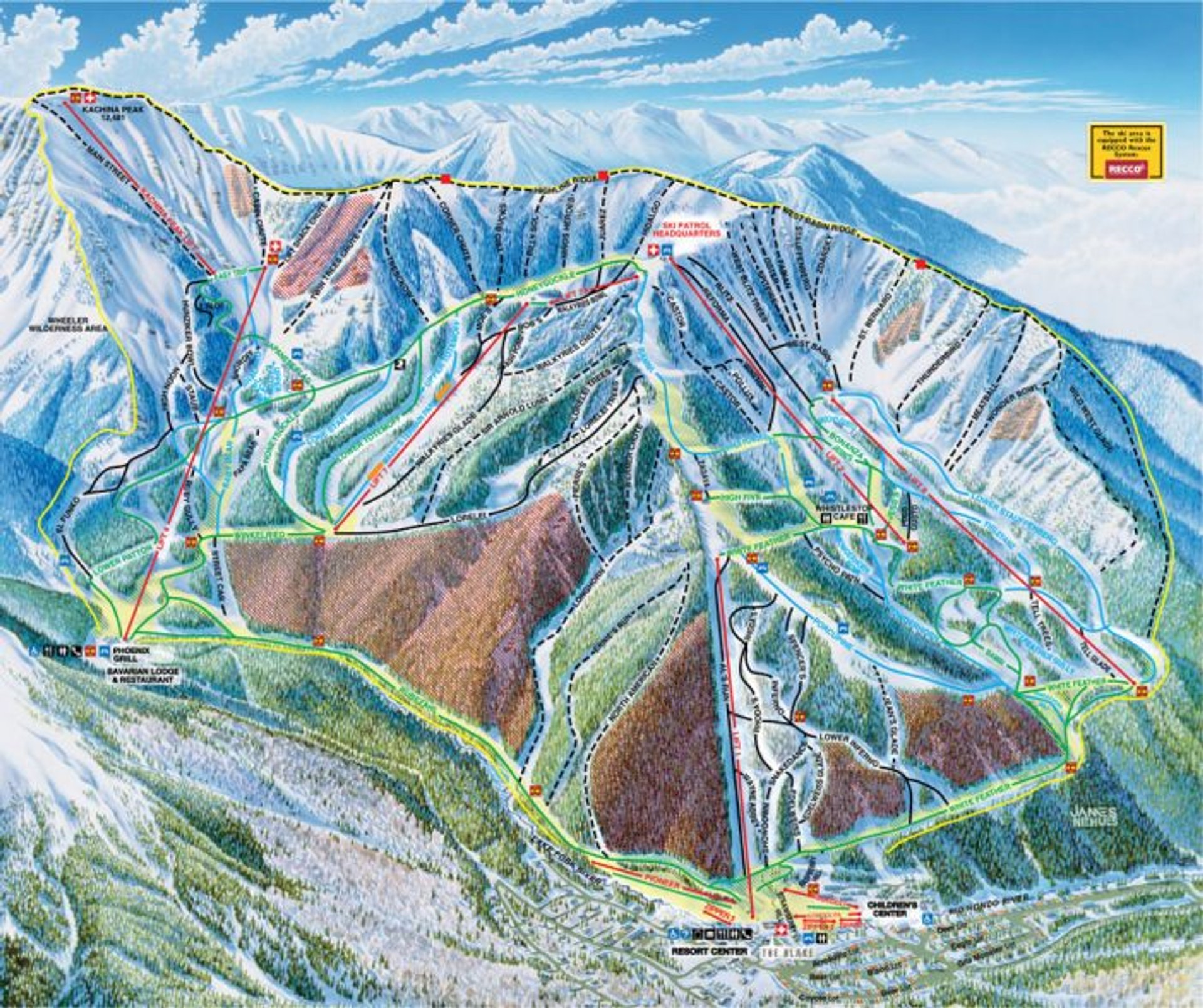 Skiing and Snowboarding in New Mexico - Best Season 2020
