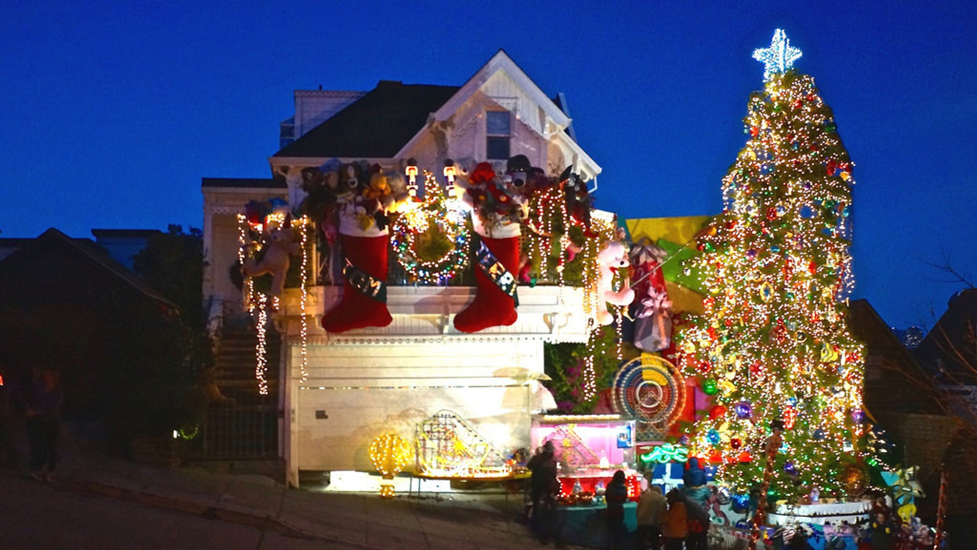 Christmas Lights San Francisco 2020 Christmas Lights 2020 in San Francisco   Dates & Map