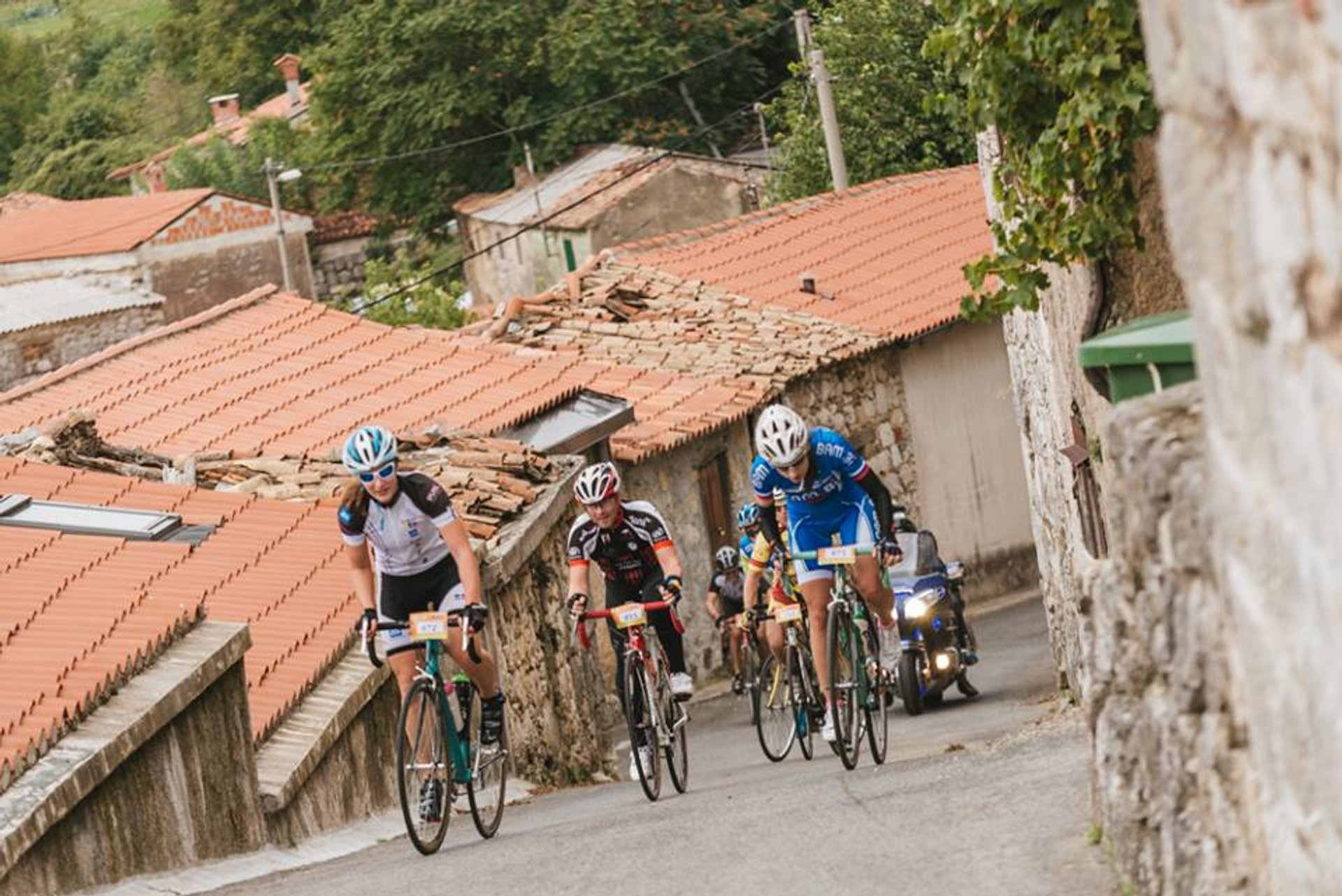 Best time for Istrian Cycling Marathon in Slovenia 2020