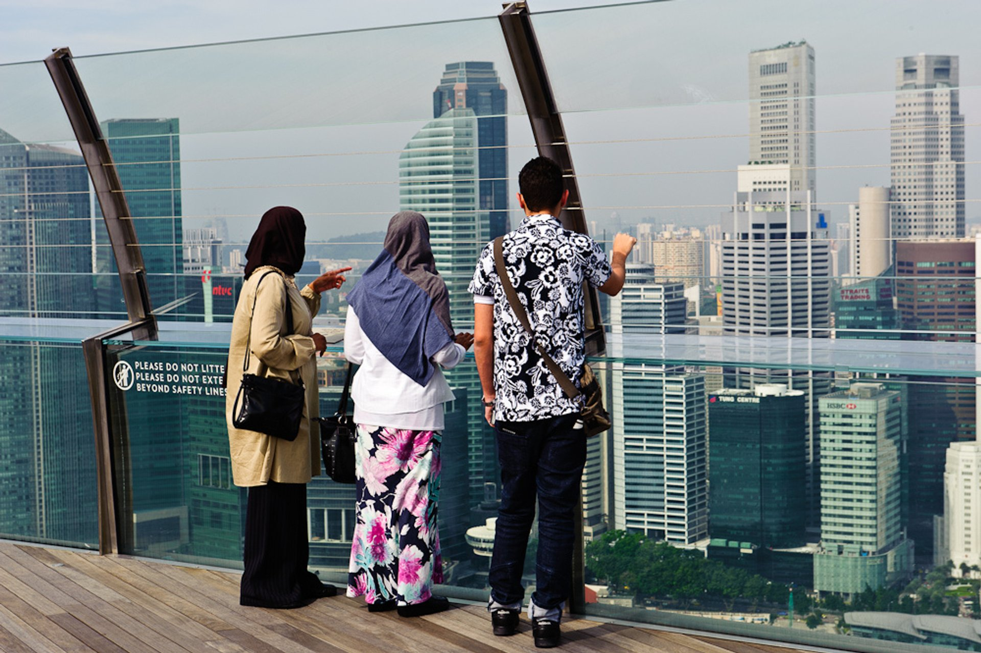Best time for Marina Bay Sands SkyPark
