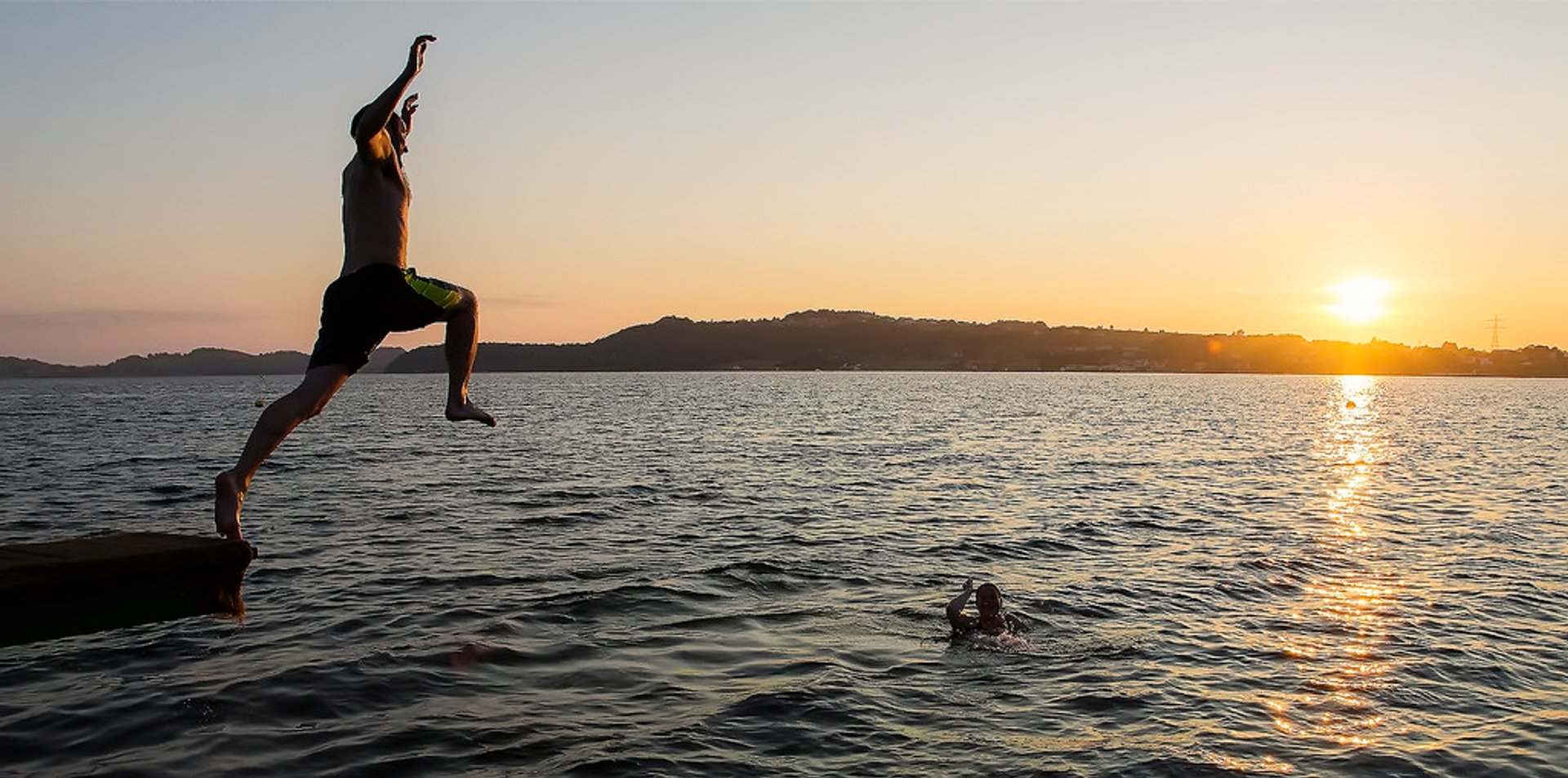Swimming in the Midnight Sun in Norway 2019 - Best Time